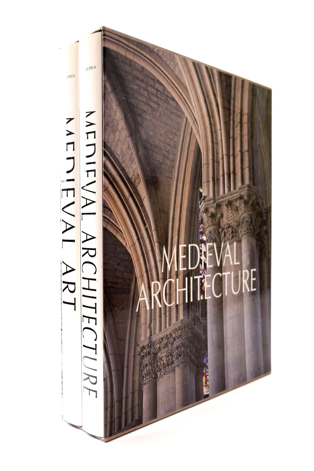Photo of MEDIEVAL ARCHITECTURE MEDIEVAL ART (2 VOLUMES) written by Piva, Paolo Cadel, A. Gandolfo, F. et al,  published by Folio Society (STOCK CODE: 2131929)  for sale by Stella & Rose's Books