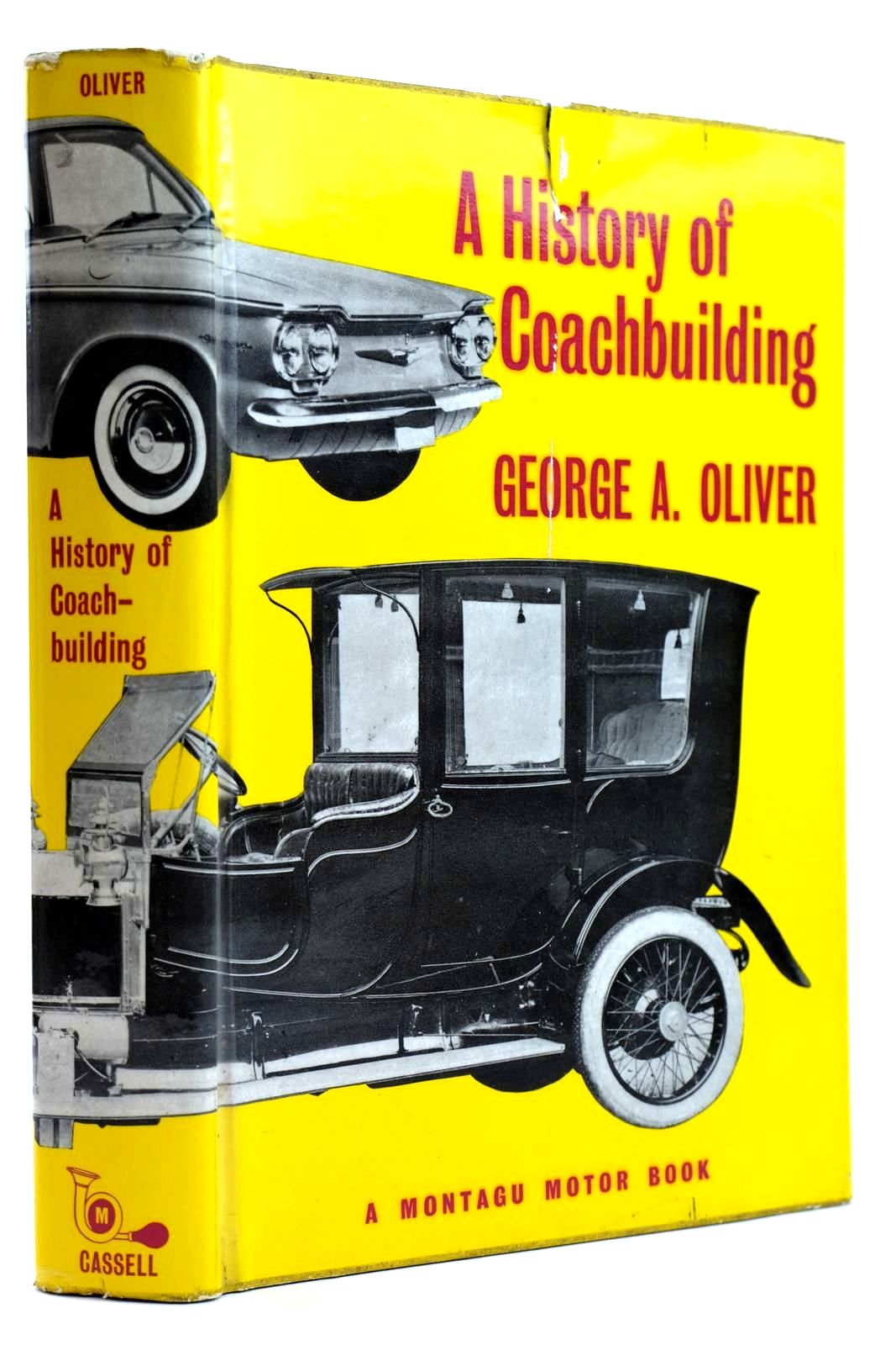 Photo of A HISTORY OF COACHBUILDING written by Oliver, George published by Cassell (STOCK CODE: 2131931)  for sale by Stella & Rose's Books