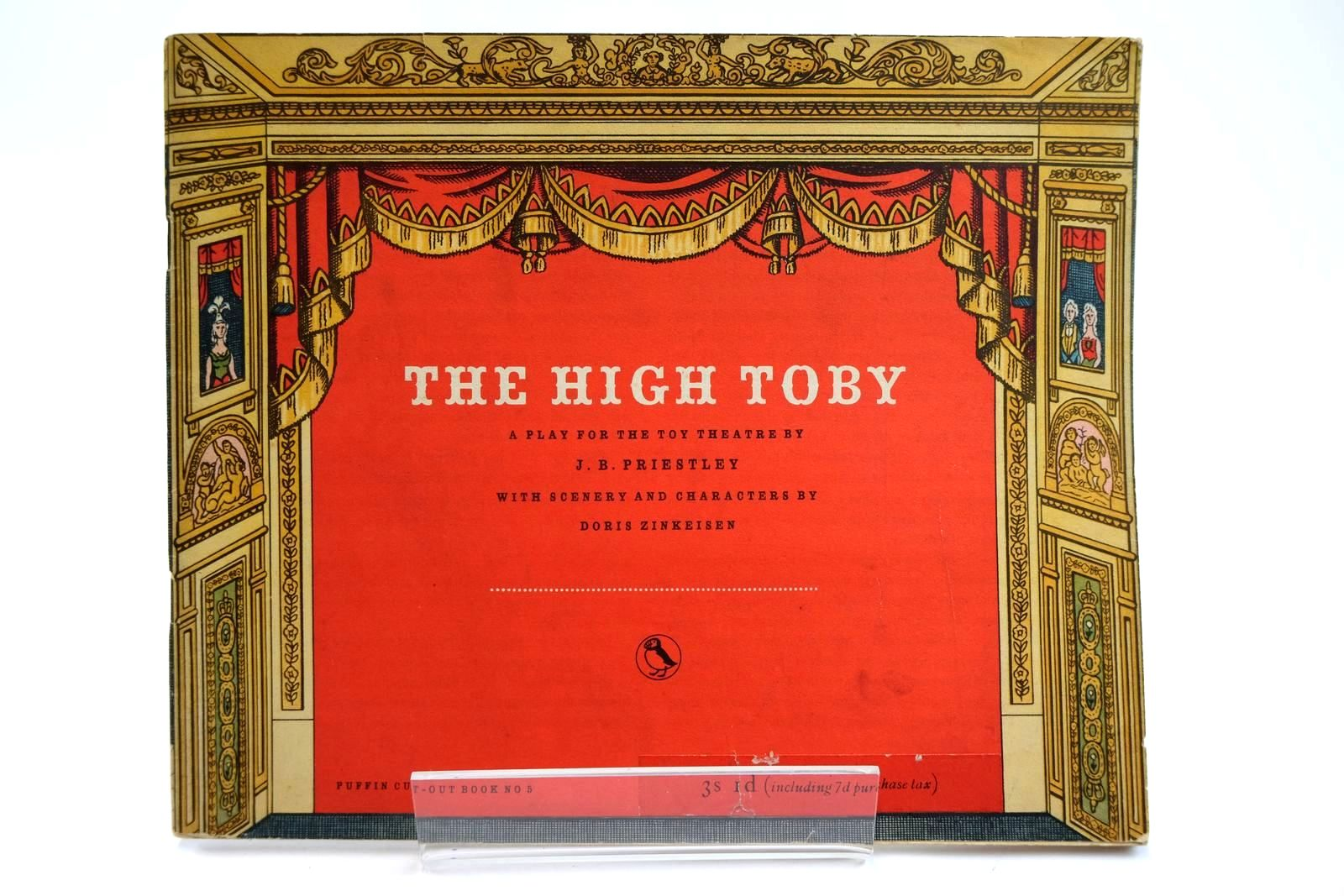 Photo of THE HIGH TOBY written by Priestley, J.B. illustrated by Zinkeisen, Doris published by Penguin (STOCK CODE: 2131939)  for sale by Stella & Rose's Books