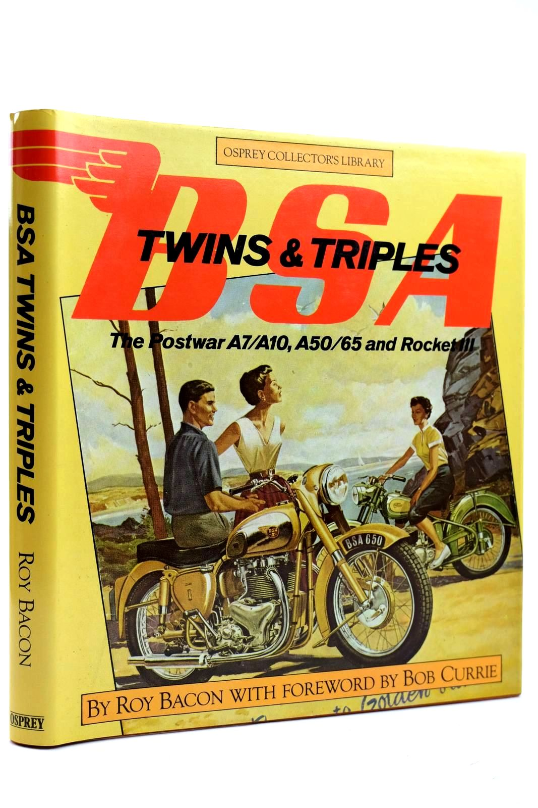 Photo of BSA TWINS & TRIPLES written by Bacon, Roy published by Osprey Publishing (STOCK CODE: 2132000)  for sale by Stella & Rose's Books