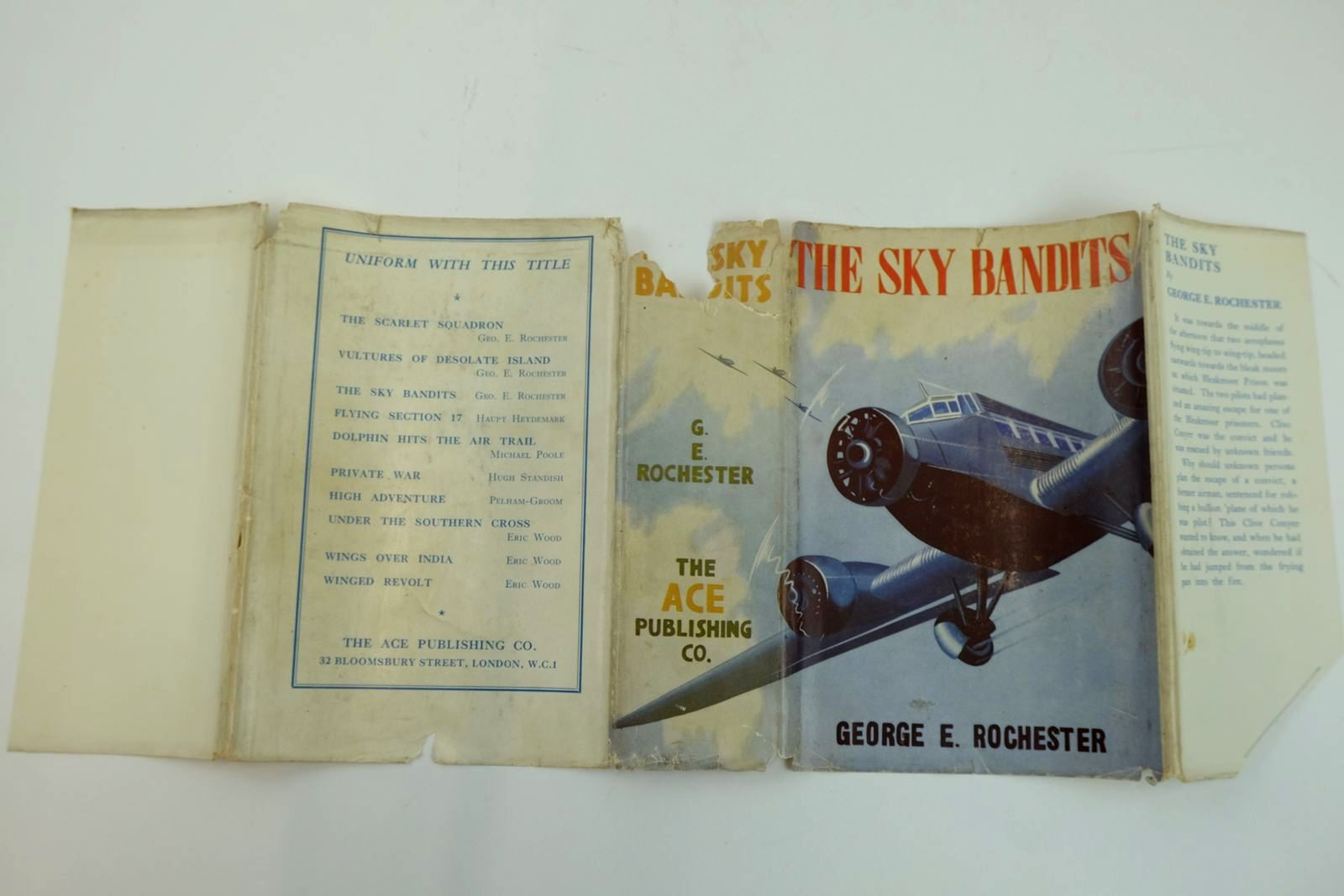 Photo of THE SKY BANDITS written by Rochester, George E. published by The Ace Publishing Company (STOCK CODE: 2132015)  for sale by Stella & Rose's Books