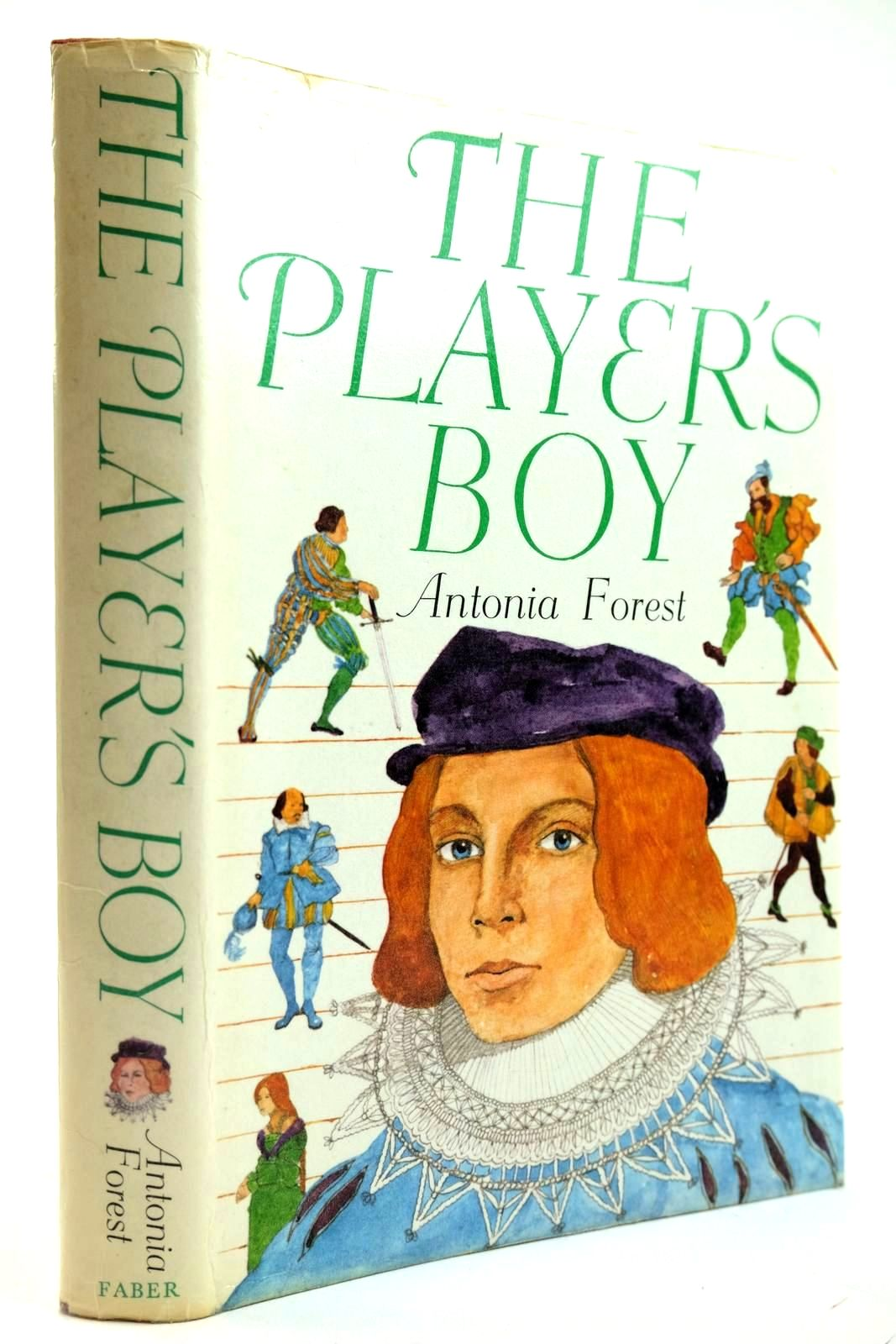 Photo of THE PLAYER'S BOY written by Forest, Antonia published by Faber & Faber Limited (STOCK CODE: 2132019)  for sale by Stella & Rose's Books
