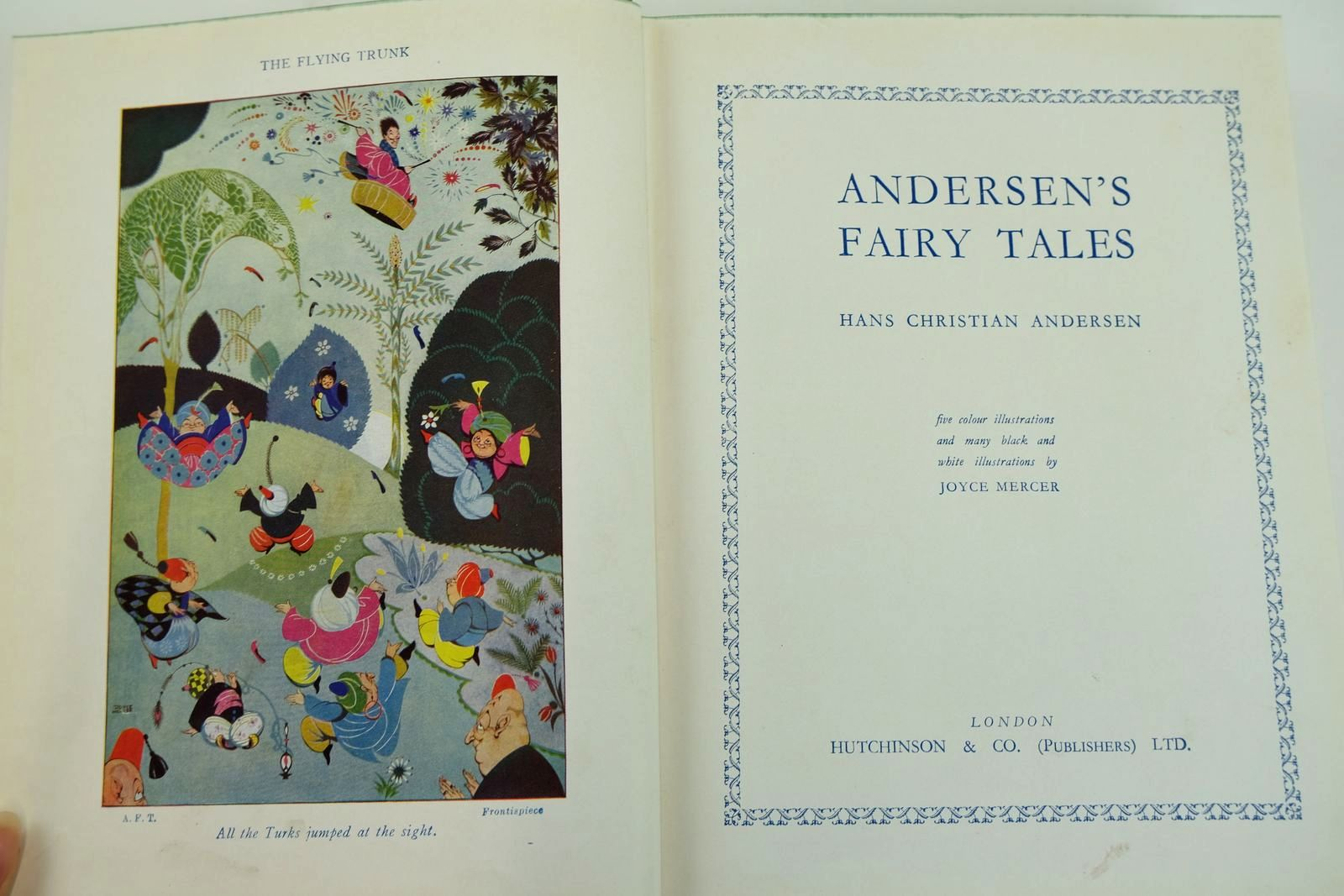 Photo of ANDERSEN'S FAIRY TALES written by Andersen, Hans Christian illustrated by Mercer, Joyce published by Hutchinson & Co. Ltd (STOCK CODE: 2132020)  for sale by Stella & Rose's Books