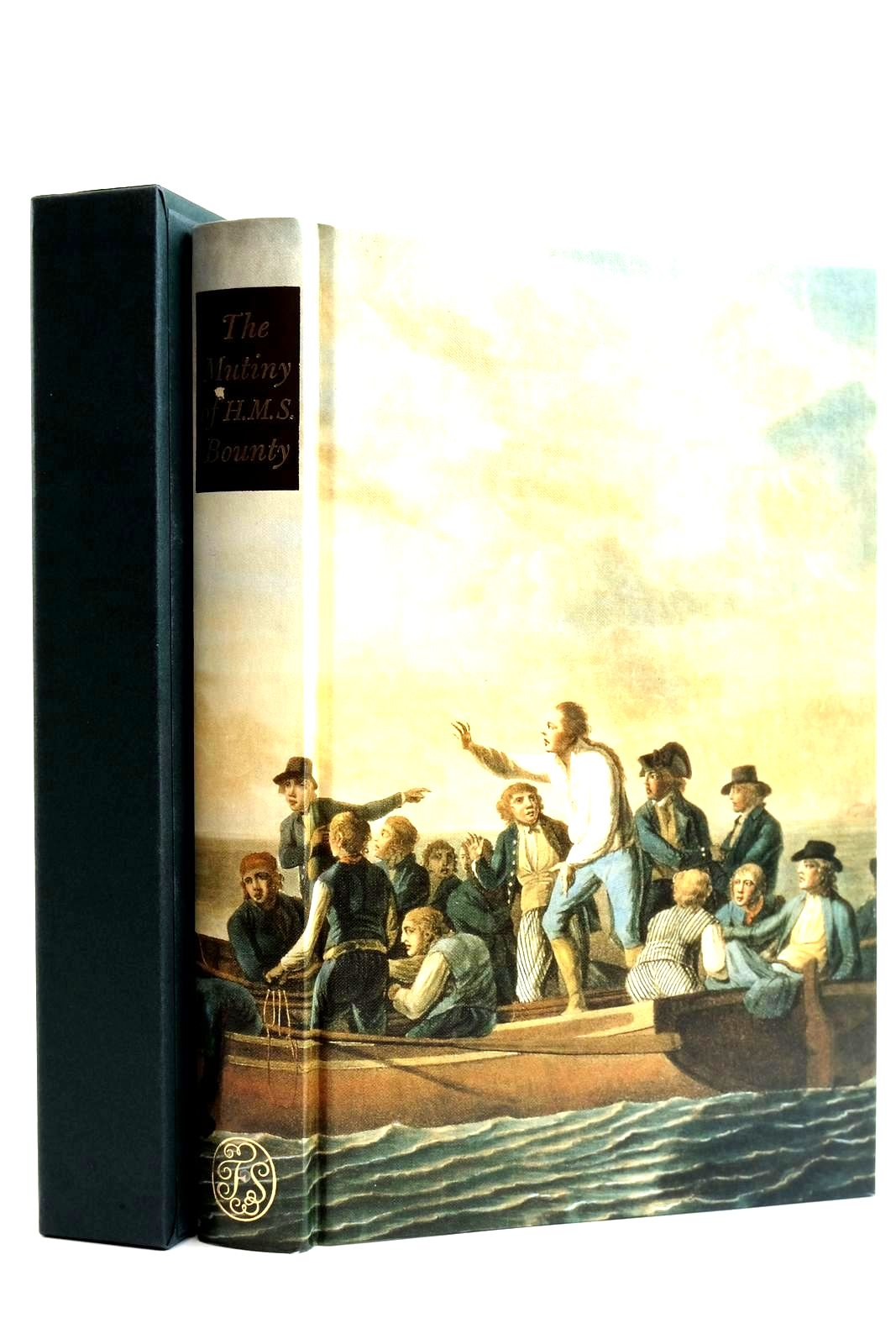 Photo of THE EVENTFUL HISTORY OF THE MUTINY AND PIRATICAL SEIZURE OF HMS BOUNTY ITS CAUSES AND CONSEQUENCES written by Barrow, John published by Folio Society (STOCK CODE: 2132042)  for sale by Stella & Rose's Books