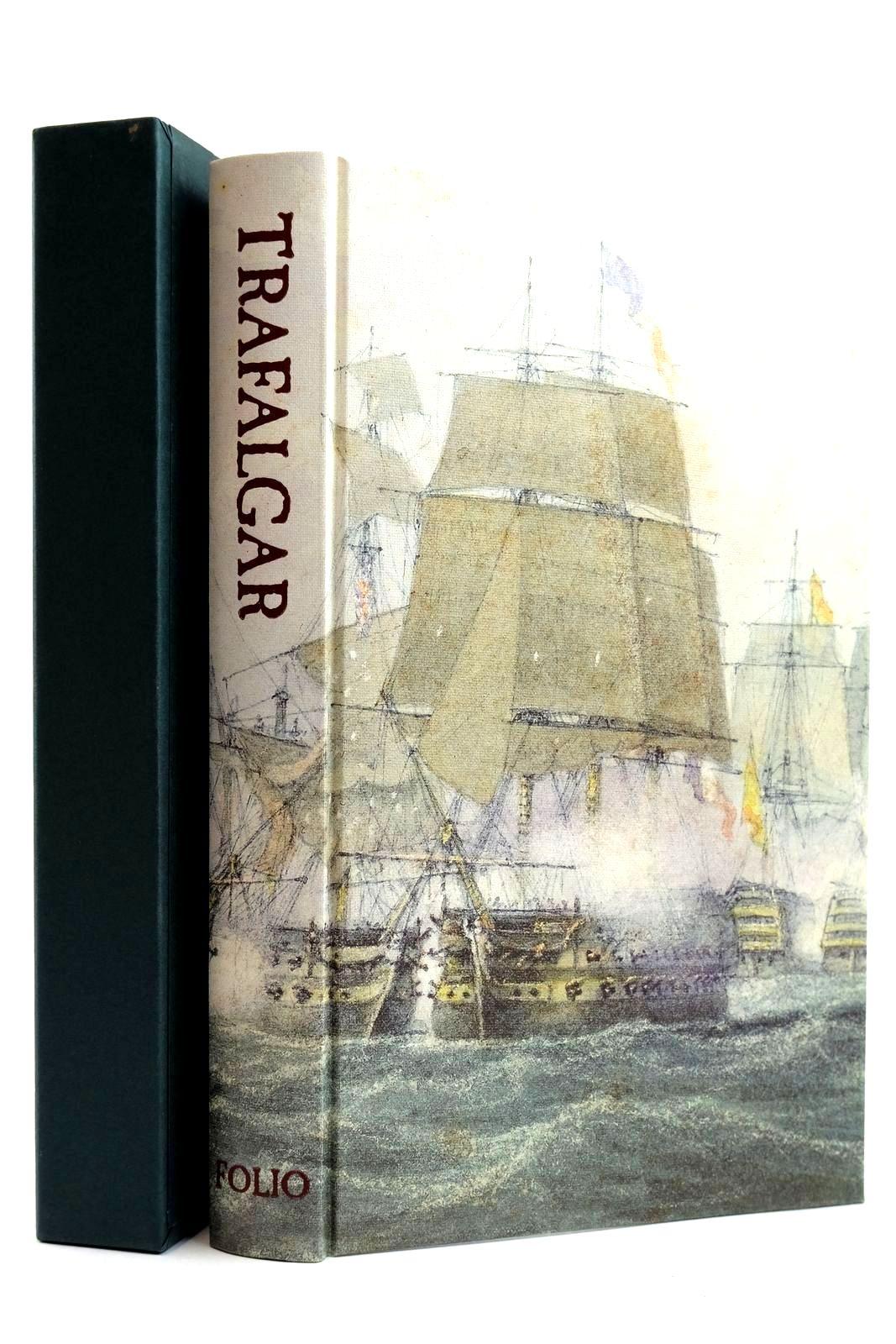 Photo of TRAFALGAR AN EYEWITNESS HISTORY written by Pocock, Tom illustrated by Piggott, Reginarld<br />Turner, J.M.W. published by Folio Society (STOCK CODE: 2132043)  for sale by Stella & Rose's Books