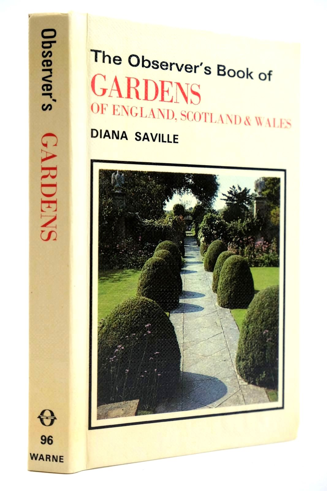 Photo of THE OBSERVER'S BOOK OF GARDENS OF ENGLAND, SCOTLAND & WALES- Stock Number: 2132056