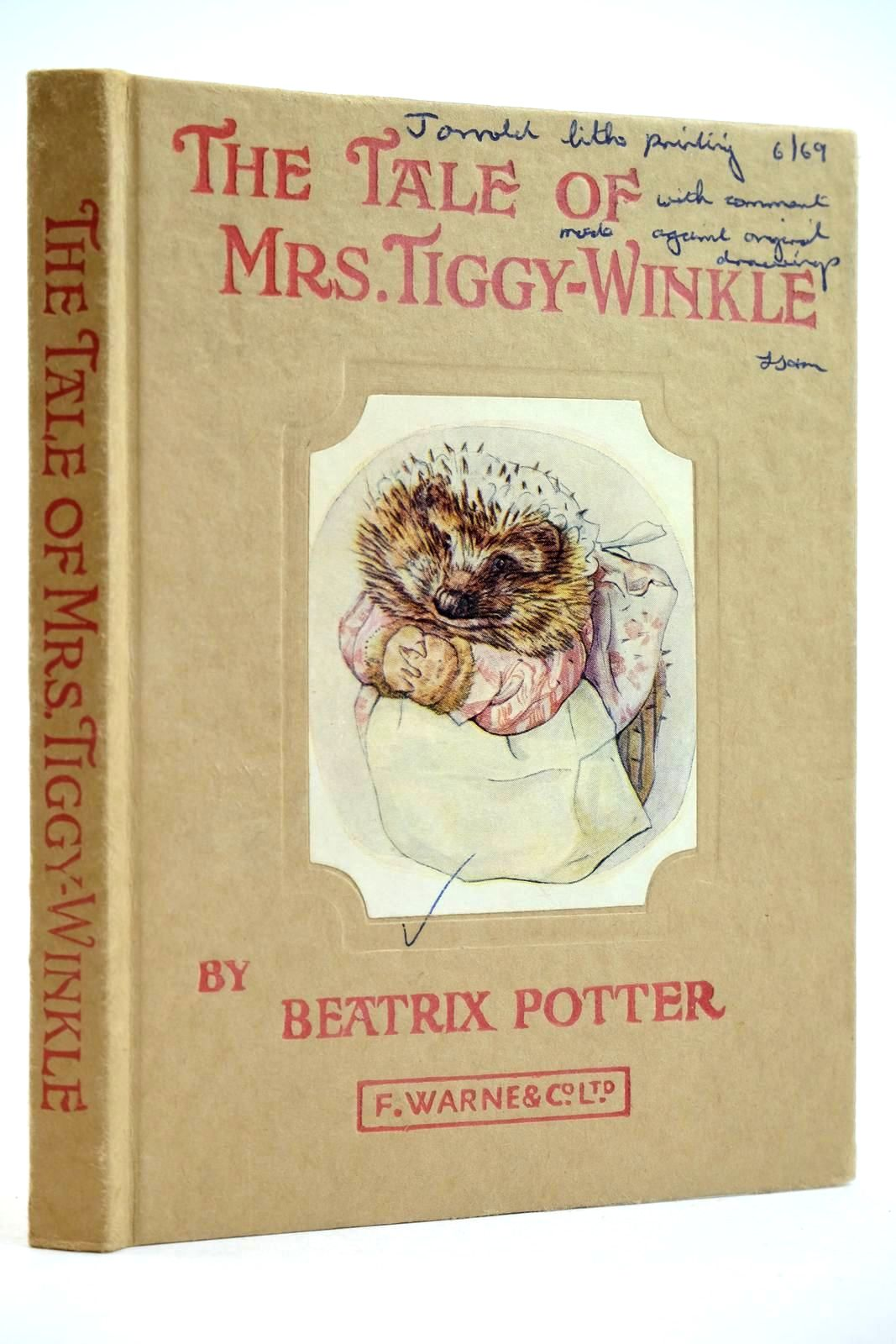 Photo of THE TALE OF MRS. TIGGY-WINKLE written by Potter, Beatrix illustrated by Potter, Beatrix published by Frederick Warne & Co Ltd. (STOCK CODE: 2132061)  for sale by Stella & Rose's Books
