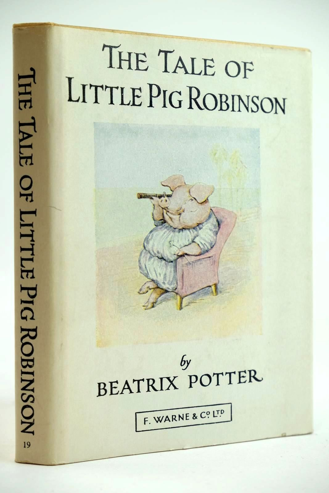 Photo of THE TALE OF LITTLE PIG ROBINSON written by Potter, Beatrix illustrated by Potter, Beatrix published by Frederick Warne & Co Ltd. (STOCK CODE: 2132066)  for sale by Stella & Rose's Books