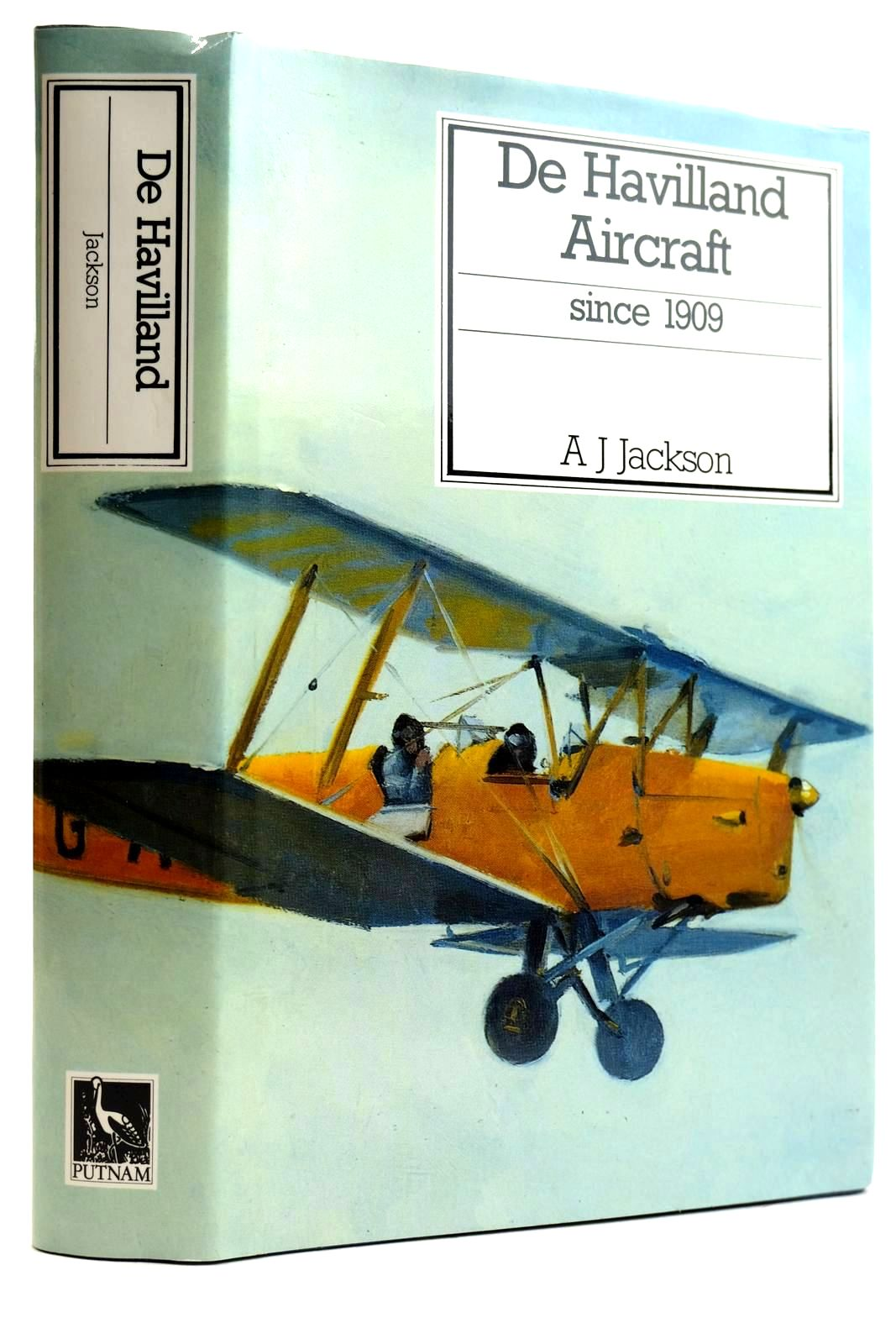 Photo of DE HAVILLAND AIRCRAFT SINCE 1909 written by Jackson, A.J. published by Putnam (STOCK CODE: 2132077)  for sale by Stella & Rose's Books