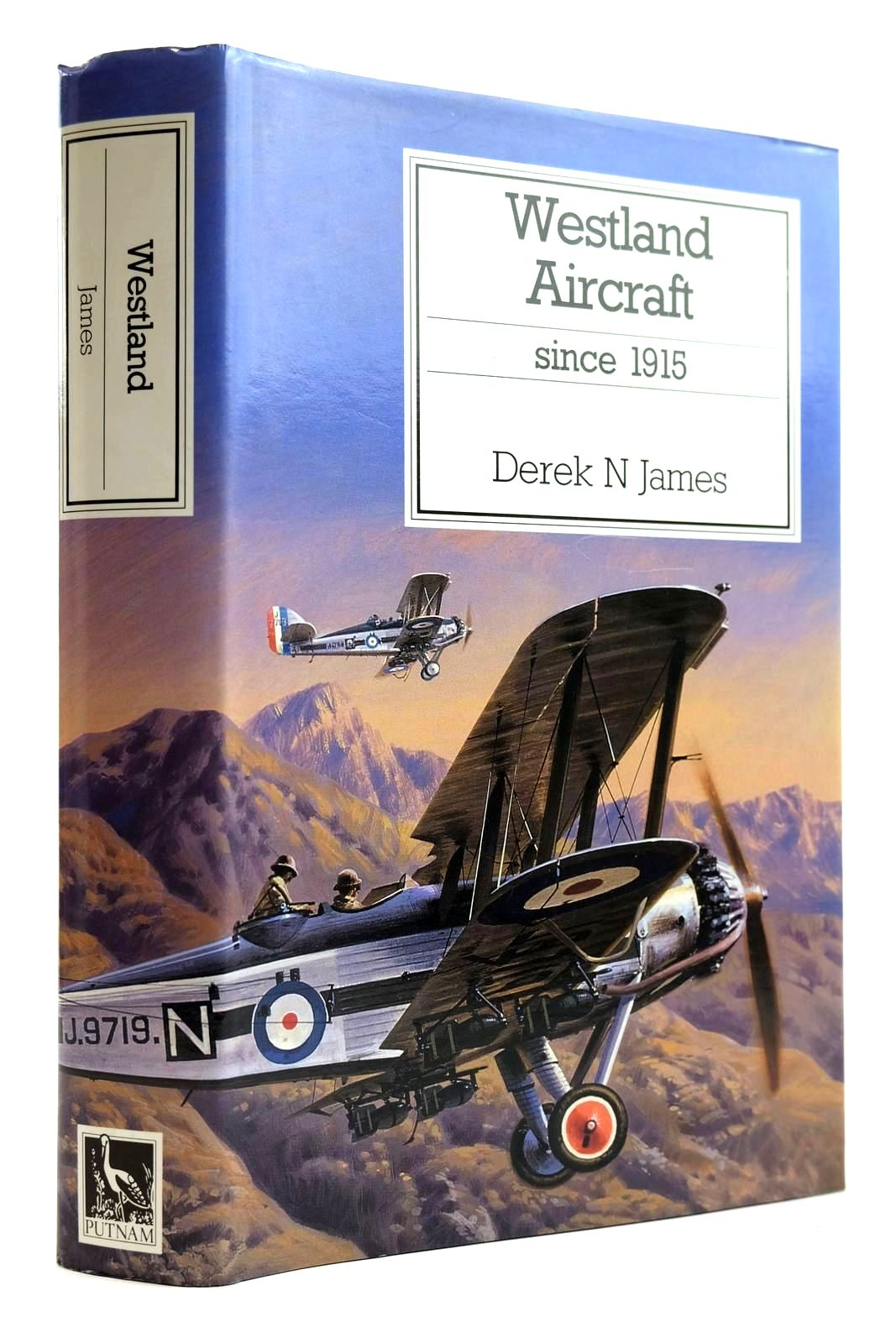Photo of WESTLAND AIRCRAFT SINCE 1915 written by James, Derek N. published by Putnam (STOCK CODE: 2132082)  for sale by Stella & Rose's Books