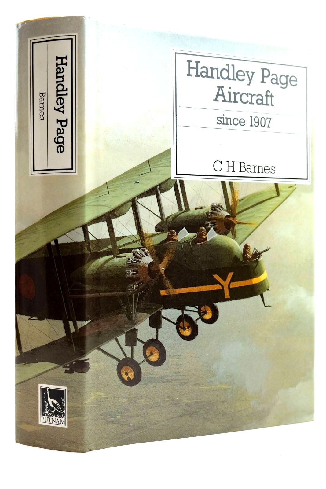 Photo of HANDLEY PAGE AIRCRAFT SINCE 1907 written by Barnes, C.H. James, Derek N. published by Putnam (STOCK CODE: 2132084)  for sale by Stella & Rose's Books