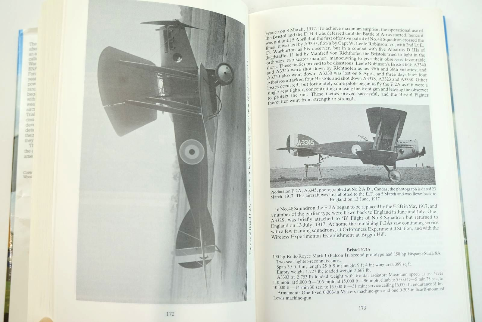 Photo of THE AEROPLANES OF THE ROYAL FLYING CORPS (MILITARY WING) written by Bruce, J.M. published by Putnam (STOCK CODE: 2132089)  for sale by Stella & Rose's Books