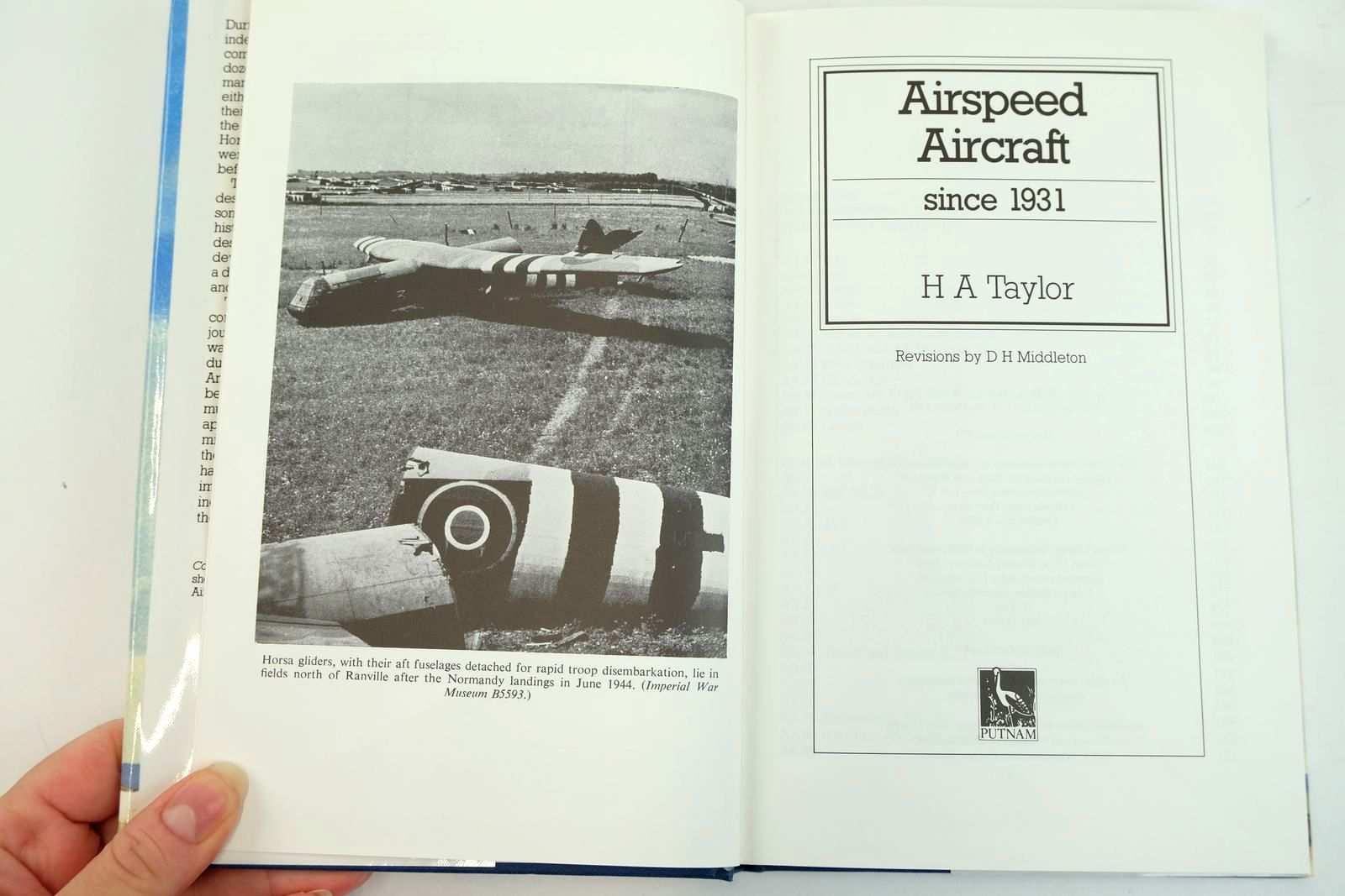 Photo of AIRSPEED AIRCRAFT SINCE 1931 written by Taylor, H.A. published by Putnam (STOCK CODE: 2132090)  for sale by Stella & Rose's Books