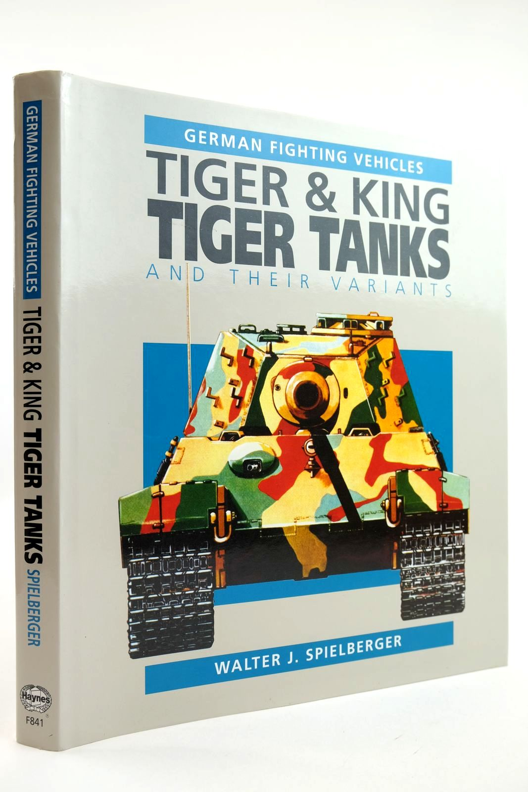 Photo of GERMAN FIGHTING VEHICLES TIGER & KING TIGER TANKS AND THEIR VARIANTS- Stock Number: 2132095