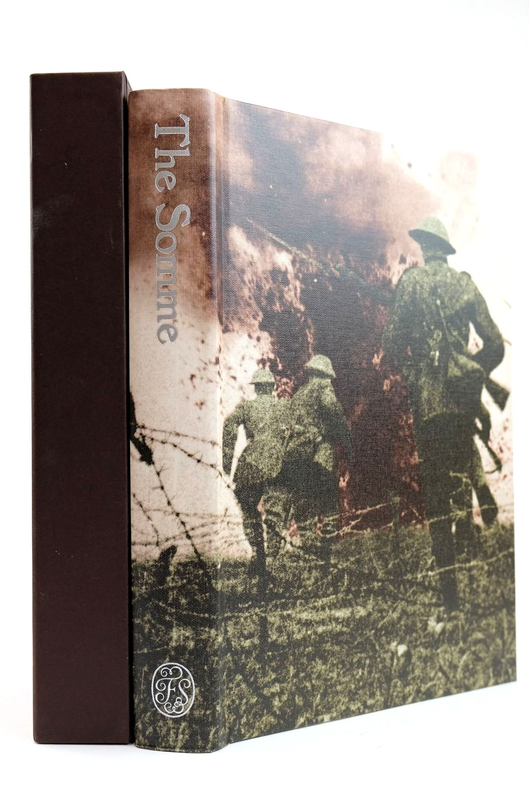 Photo of THE SOMME AN EYEWITNESS HISTORY written by Foley, Robert T. McCartney, Helen published by Folio Society (STOCK CODE: 2132105)  for sale by Stella & Rose's Books