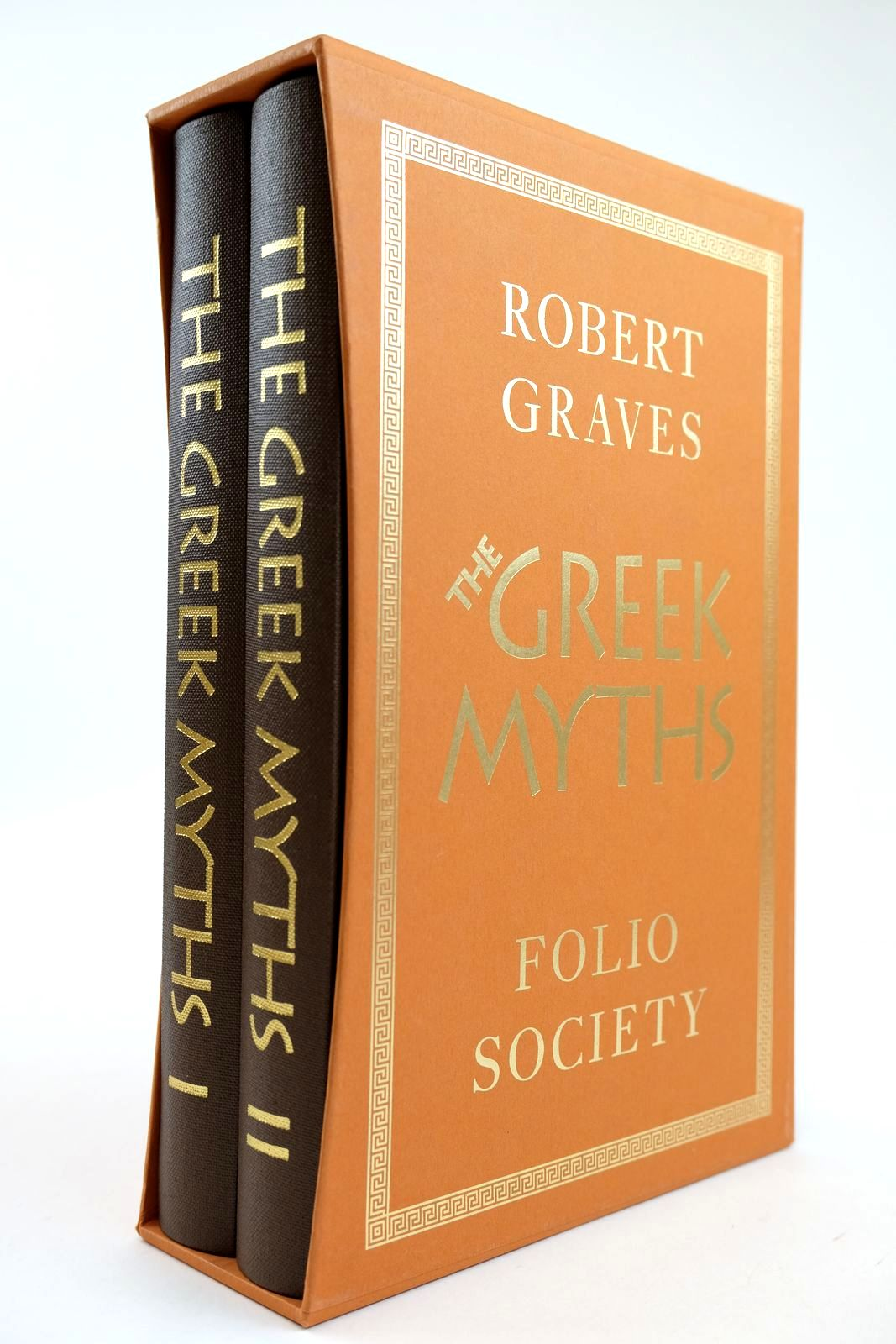 Photo of THE GREEK MYTHS (2 VOLUMES) written by Graves, Robert Mcleish, Kenneth illustrated by Baker, Grahame published by Folio Society (STOCK CODE: 2132109)  for sale by Stella & Rose's Books