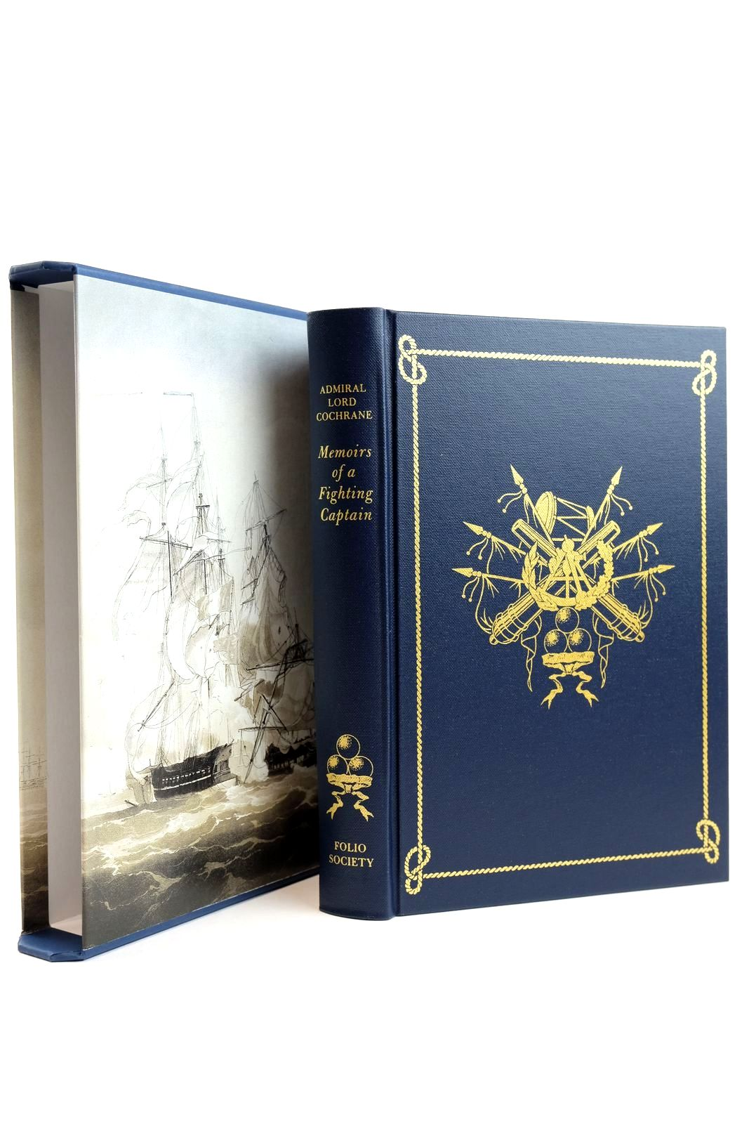 Photo of MEMOIRS OF A FIGHTING CAPTAIN written by Cochrane, Admiral Lord Vale, Brian published by Folio Society (STOCK CODE: 2132111)  for sale by Stella & Rose's Books