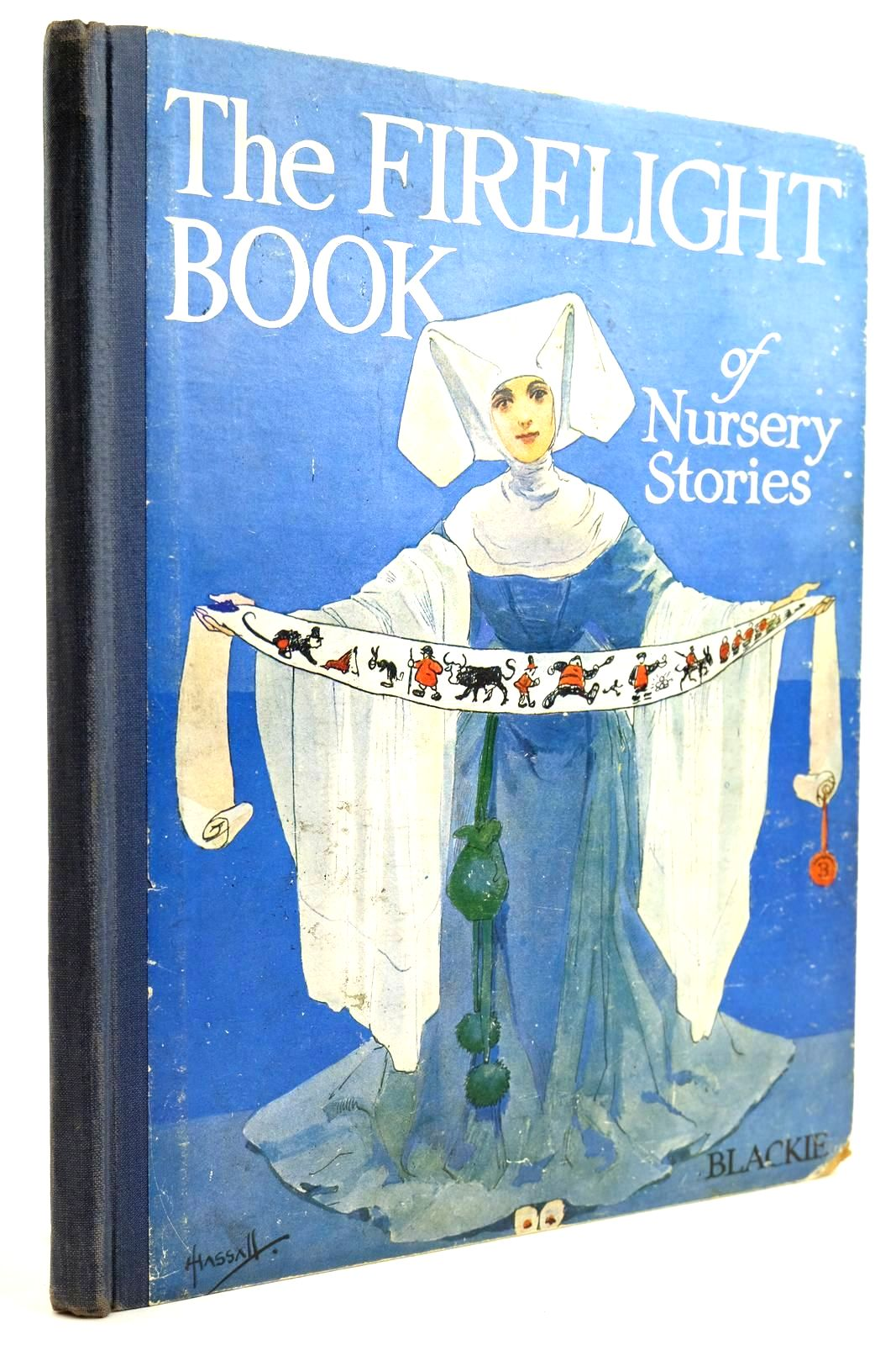 Photo of THE FIRELIGHT BOOK OF NURSERY STORIES illustrated by Hassall, John published by Blackie & Son Ltd. (STOCK CODE: 2132133)  for sale by Stella & Rose's Books