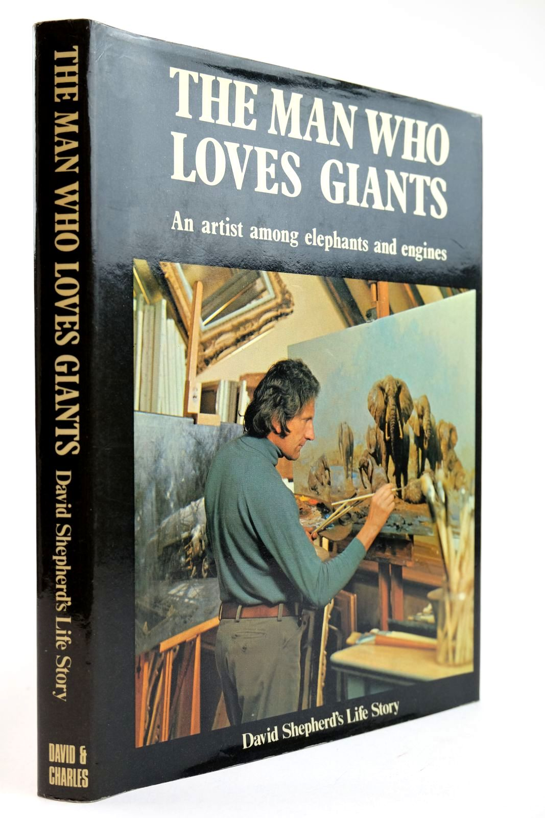 Photo of THE MAN WHO LOVES GIANTS written by Shepherd, David illustrated by Shepherd, David published by David & Charles (STOCK CODE: 2132145)  for sale by Stella & Rose's Books