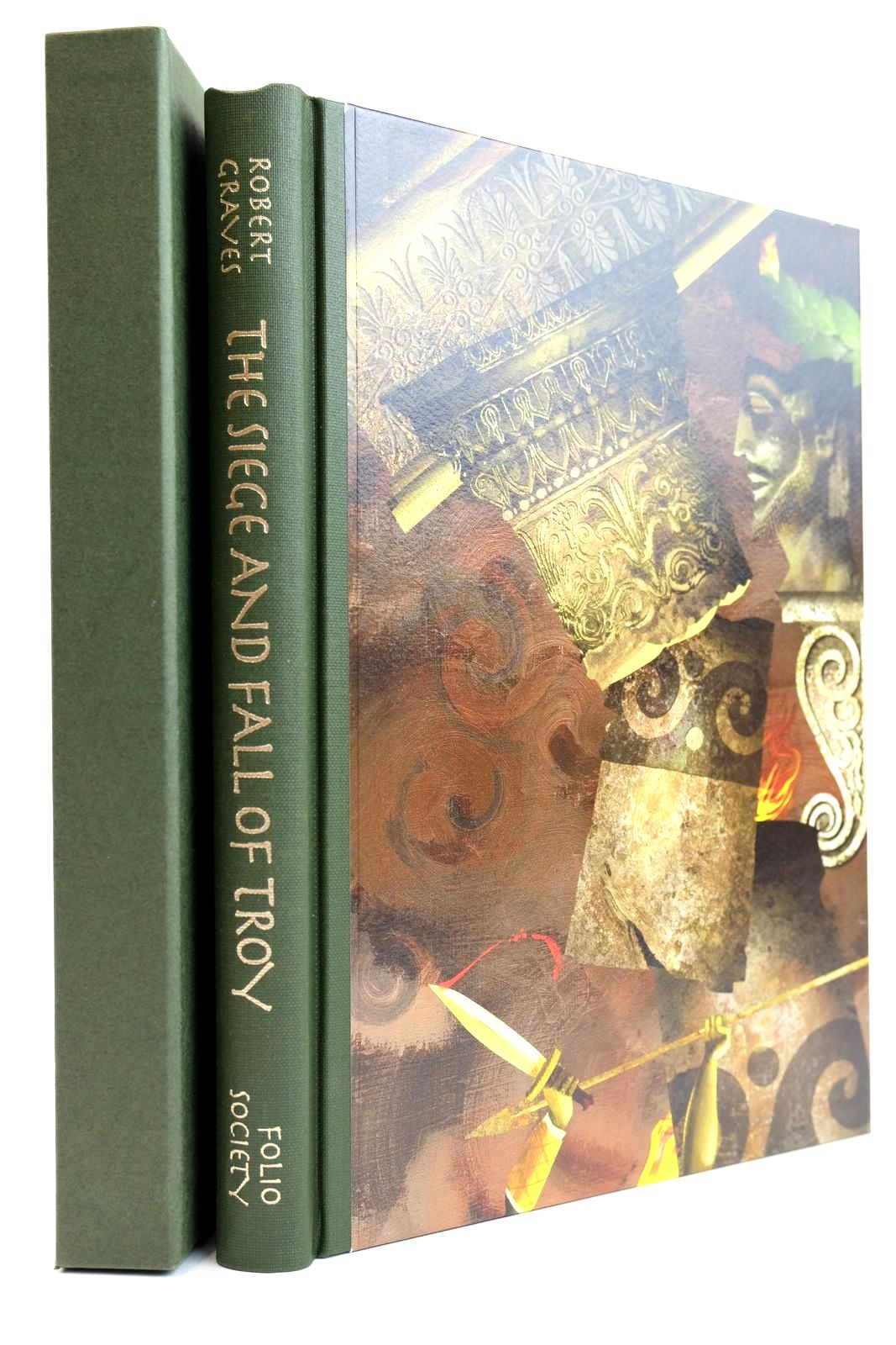 Photo of THE SIEGE AND FALL OF TROY written by Graves, Robert illustrated by Baker, Grahame published by Folio Society (STOCK CODE: 2132166)  for sale by Stella & Rose's Books