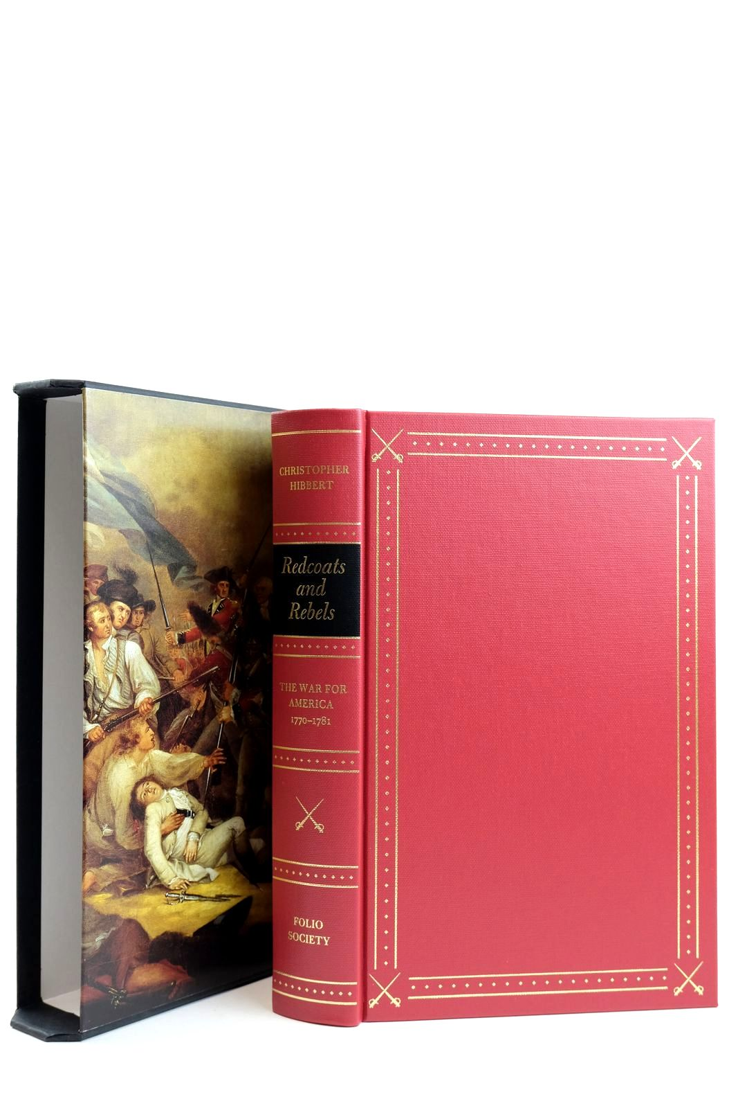 Photo of REDCOATS AND REBELS written by Hibbert, Christopher published by Folio Society (STOCK CODE: 2132167)  for sale by Stella & Rose's Books