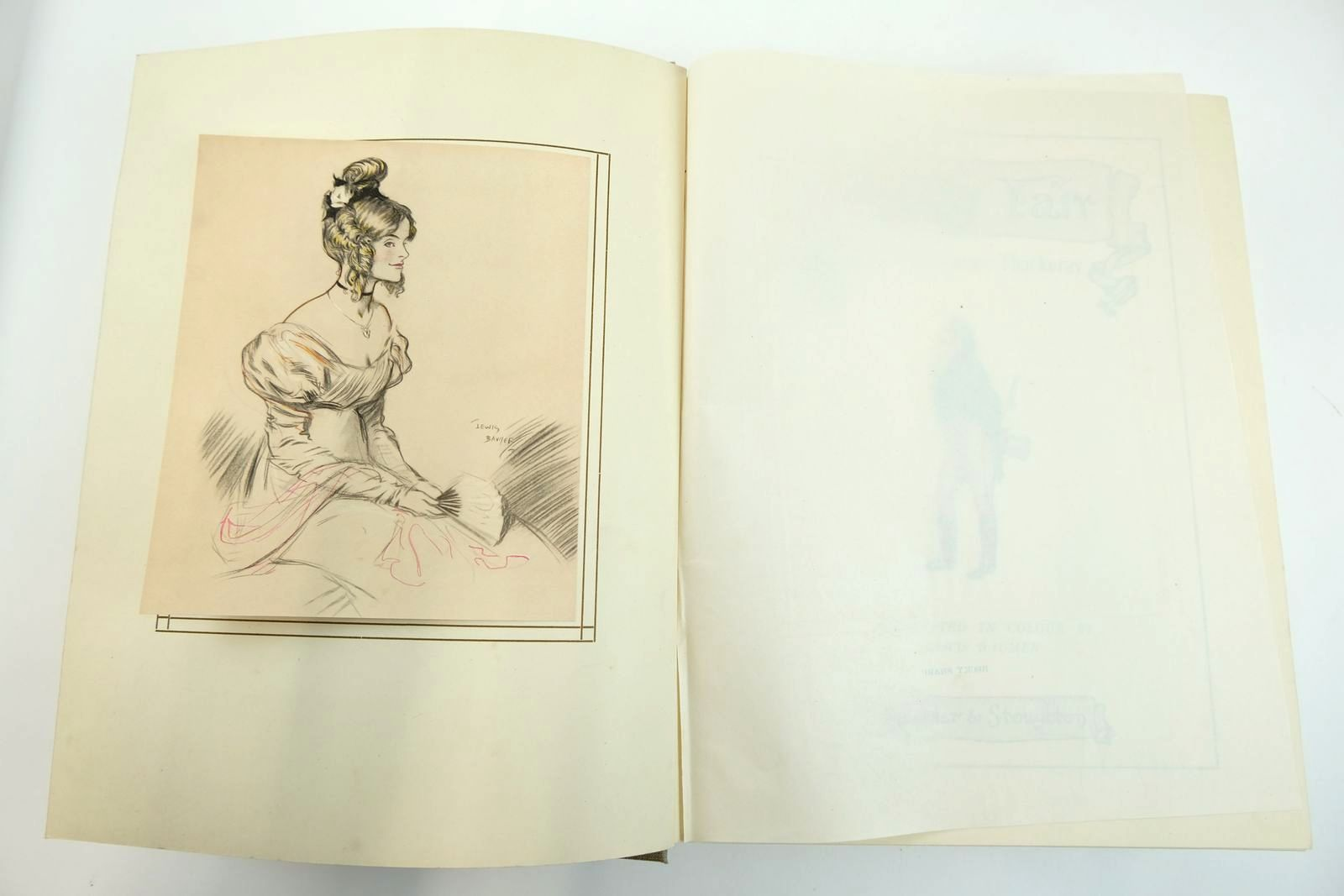 Photo of VANITY FAIR written by Thackeray, William Makepeace illustrated by Baumer, Lewis published by Hodder & Stoughton (STOCK CODE: 2132196)  for sale by Stella & Rose's Books