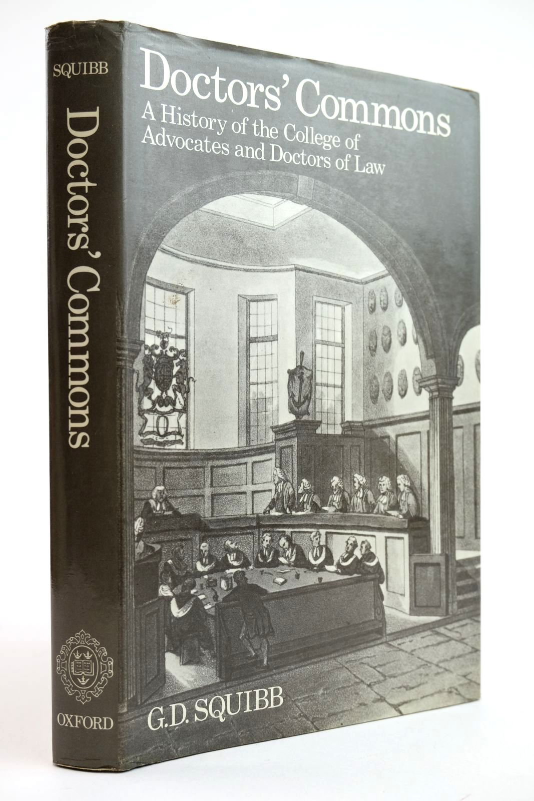 Photo of DOCTORS' COMMONS: A HISTORY OF THE COLLEGE OF ADVOCATES AND DOCTORS OF LAW- Stock Number: 2132197