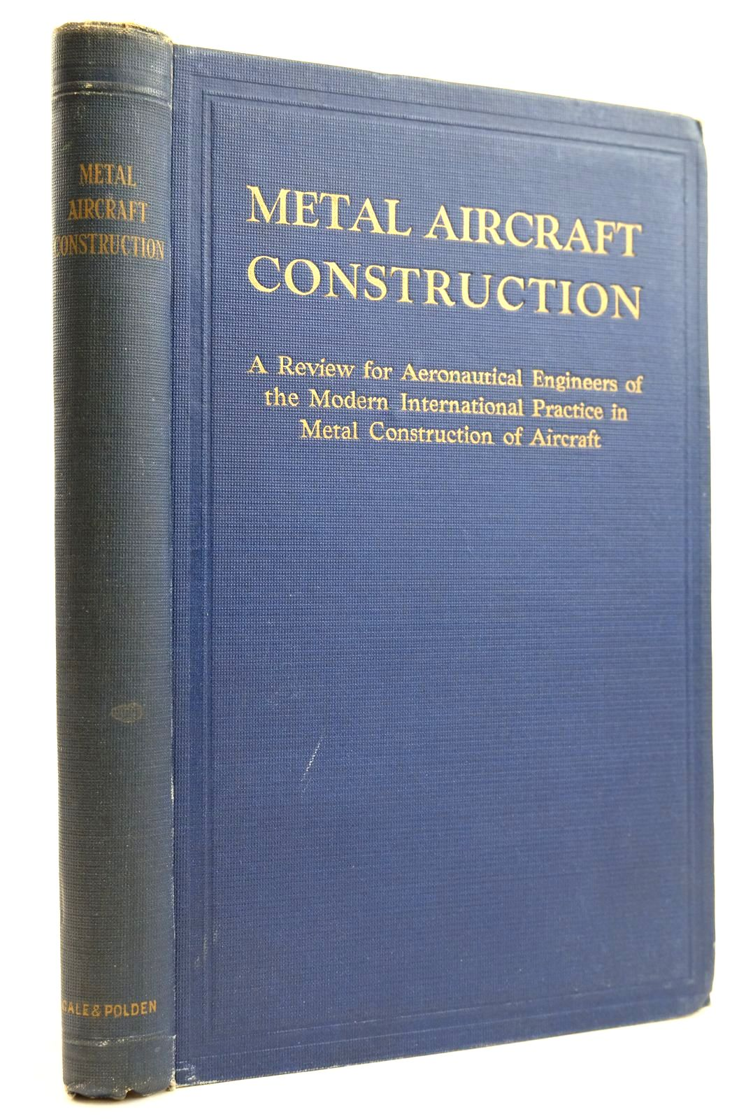 Photo of METAL AIRCRAFT CONSTRUCTION- Stock Number: 2132222