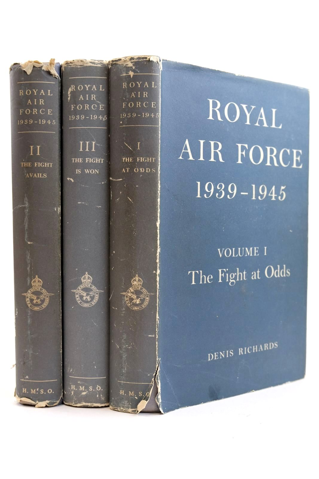 Photo of ROYAL AIR FORCE 1939-1945 (3 VOLUMES) written by Richards, Denis Saunders, Hilary St. George published by Her Majesty's Stationery Office (STOCK CODE: 2132223)  for sale by Stella & Rose's Books