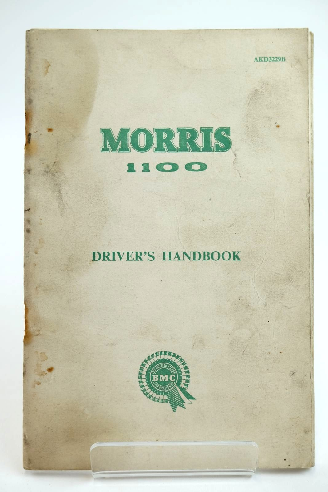Photo of MORRIS 1100 DRIVER'S HANDBOOK published by Morris Motors Limited (STOCK CODE: 2132237)  for sale by Stella & Rose's Books