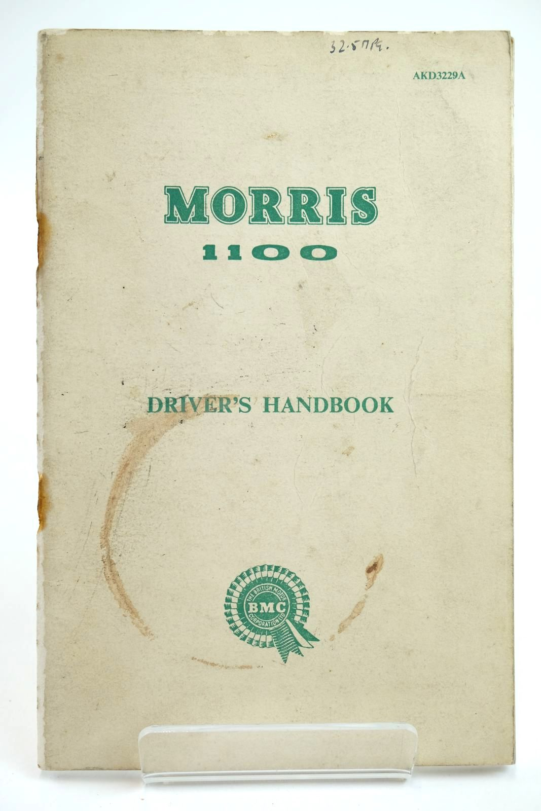 Photo of MORRIS 1100 DRIVER'S HANDBOOK published by Morris Motors Limited (STOCK CODE: 2132240)  for sale by Stella & Rose's Books