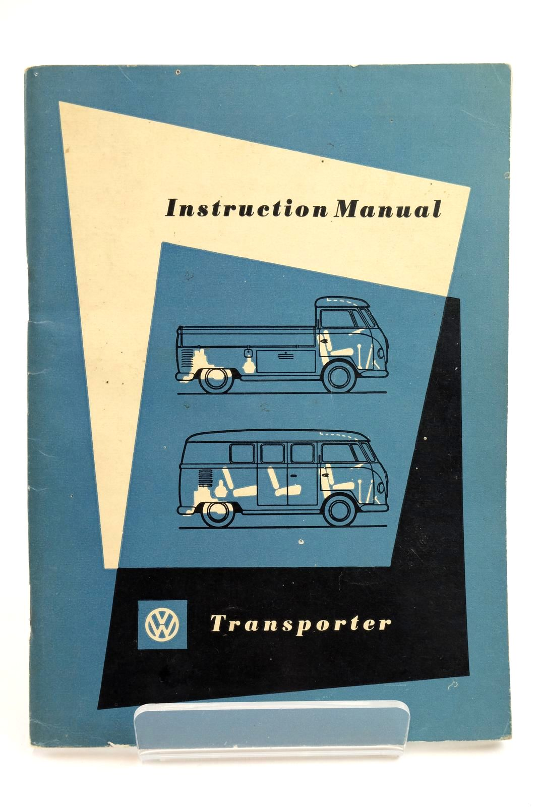 Photo of INSTRUCTION MANUAL VW TRANSPORTER published by Volkswagenwerk Ag Wolfsburg (STOCK CODE: 2132249)  for sale by Stella & Rose's Books