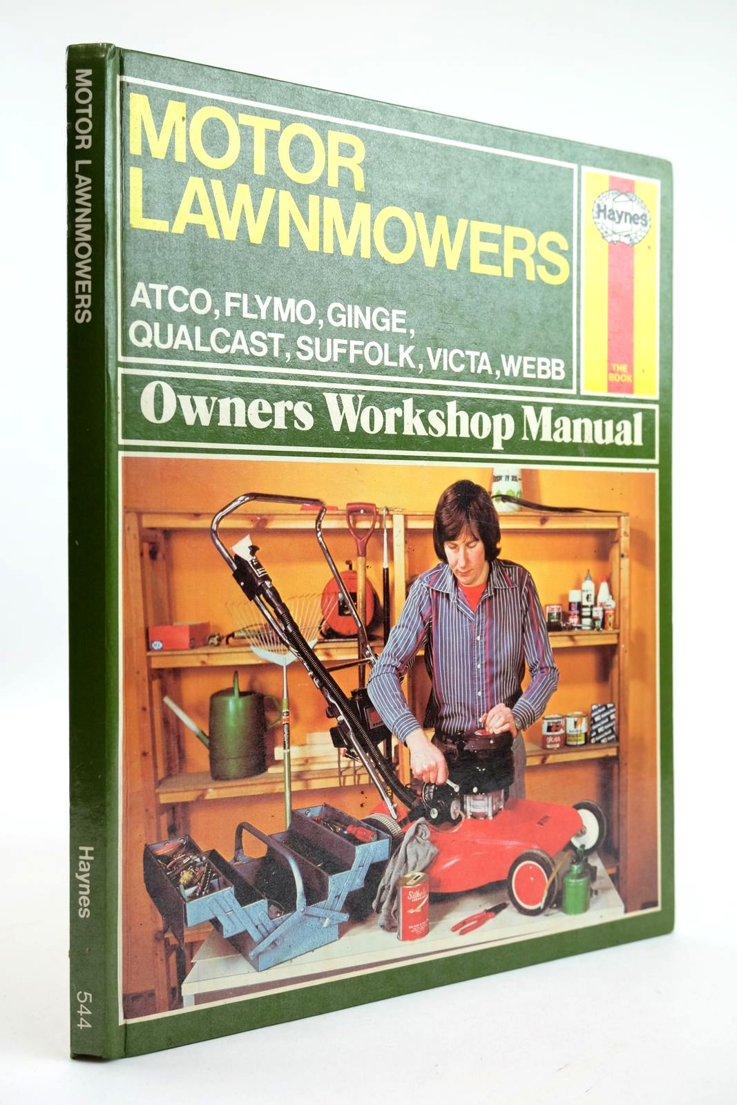 Photo of MOTOR LAWNMOWERS OWNERS WORKSHIP MANUAL- Stock Number: 2132256