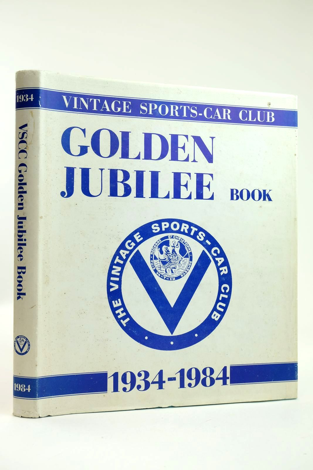 Photo of THE VINTAGE SPORTS-CAR CLUB GOLDEN JUBILEE BOOK 1934-1984