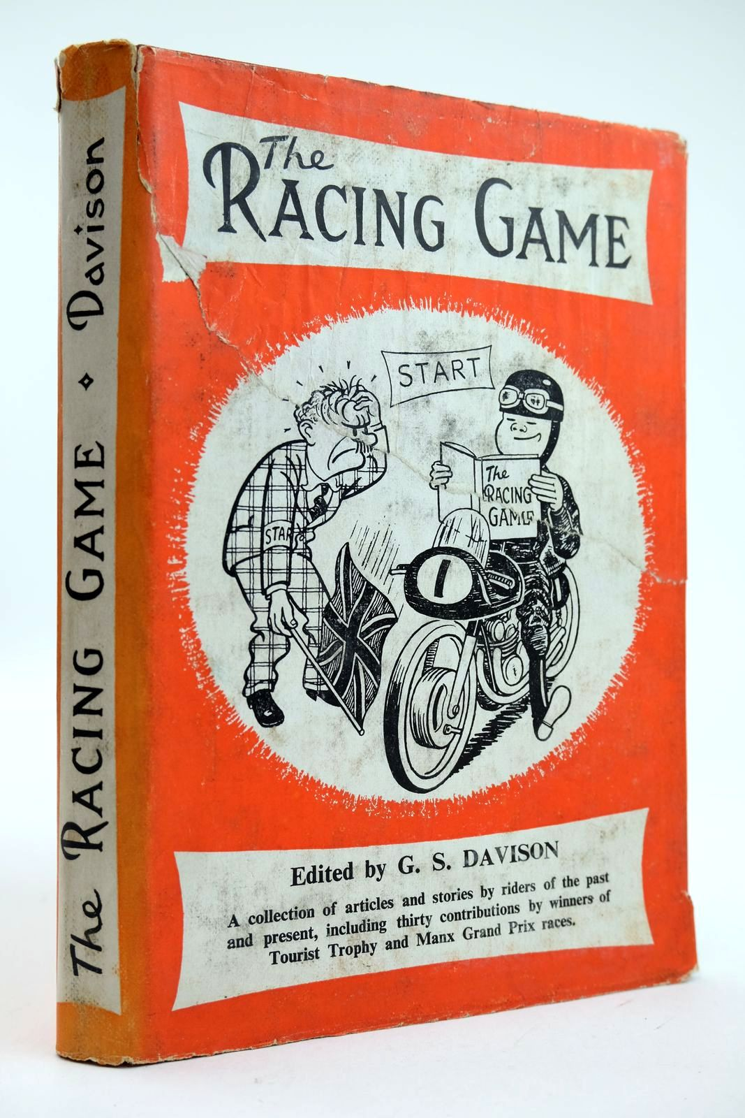 Photo of THE RACING GAME written by Davison, G.S. illustrated by Ketton, Jack published by The T.T. Special (STOCK CODE: 2132280)  for sale by Stella & Rose's Books