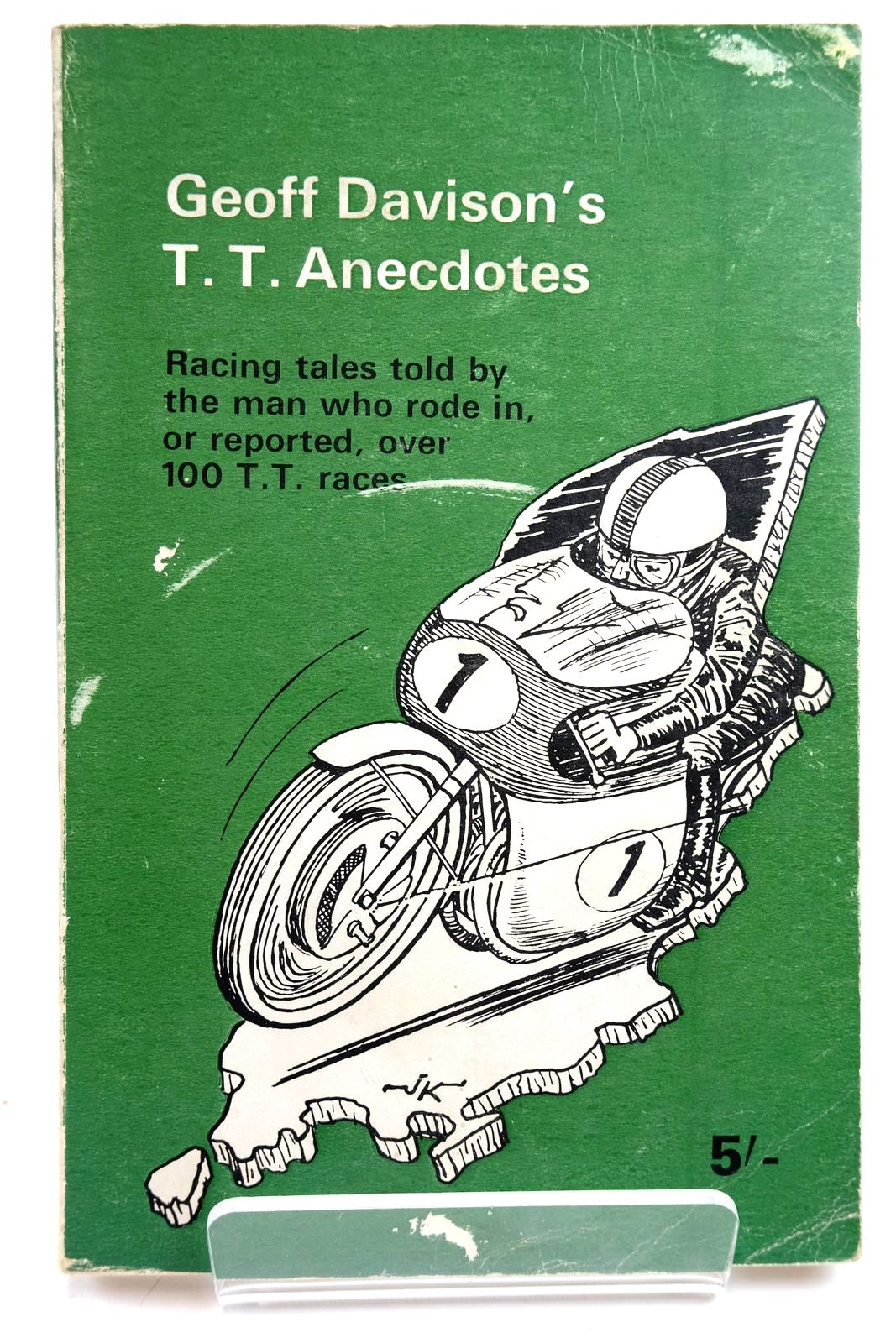 Photo of GEOFF DAVISON'S T.T. ANECDOTES written by Davison, G.S. illustrated by Ketton, Jack published by Molly Davison (STOCK CODE: 2132288)  for sale by Stella & Rose's Books