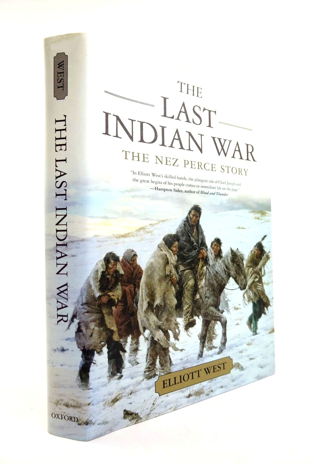 Photo of THE LAST INDIAN WAR written by West, Elliott published by Oxford University Press (STOCK CODE: 2132315)  for sale by Stella & Rose's Books