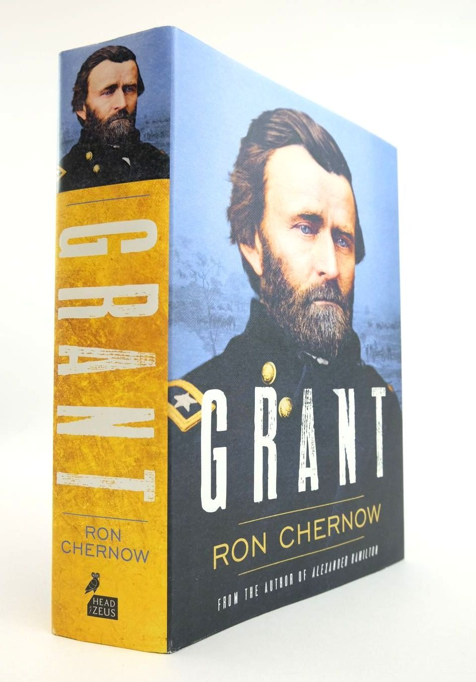Photo of GRANT written by Chernow, Ron published by Head Of Zeus (STOCK CODE: 2132317)  for sale by Stella & Rose's Books