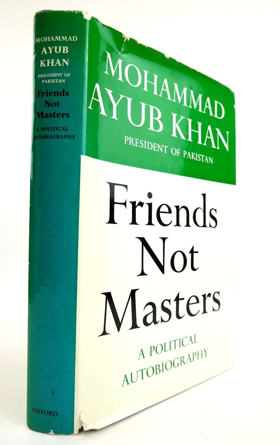 Photo of FRIENDS NOT MASTERS written by Khan, Mohammad Ayub published by Oxford University Press (STOCK CODE: 2132335)  for sale by Stella & Rose's Books