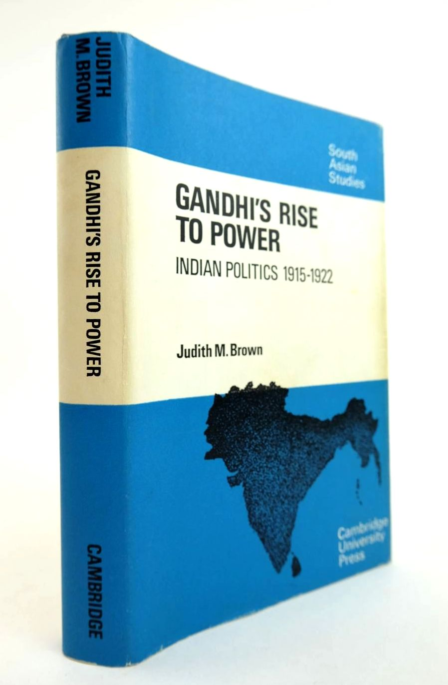 Photo of GANDHI'S RISE TO POWER written by Brown, Judith M. published by Cambridge University Press (STOCK CODE: 2132340)  for sale by Stella & Rose's Books