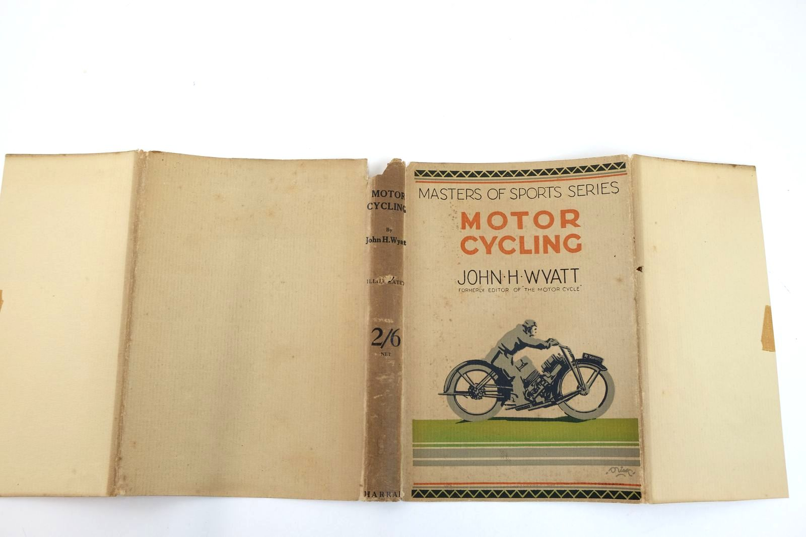 Photo of MOTOR CYCLING written by Wyatt, John H. published by George G. Harrap & Co. Ltd. (STOCK CODE: 2132355)  for sale by Stella & Rose's Books