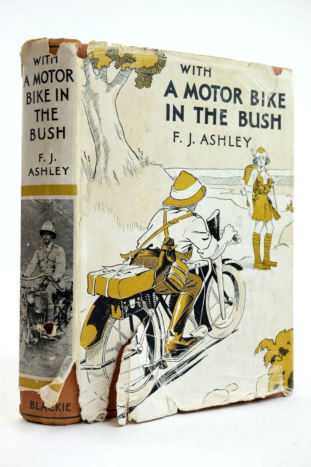 Photo of WITH A MOTOR-BIKE IN THE BUSH- Stock Number: 2132356
