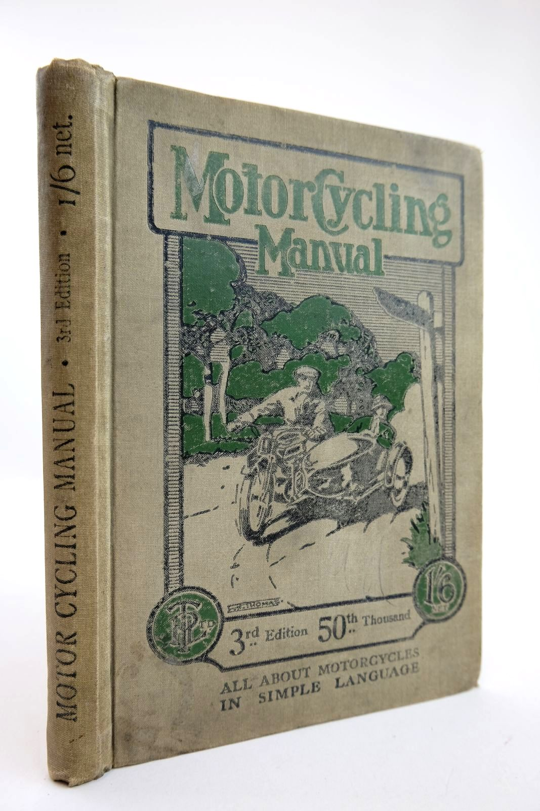 Photo of MOTOR CYCLING MANUAL published by Temple Press Limited (STOCK CODE: 2132366)  for sale by Stella & Rose's Books