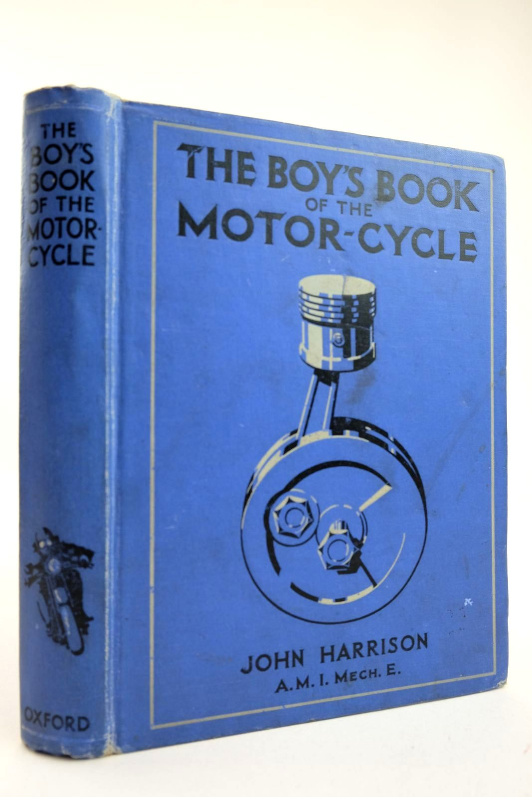 Photo of THE BOY'S BOOK OF THE MOTOR-CYCLE- Stock Number: 2132369