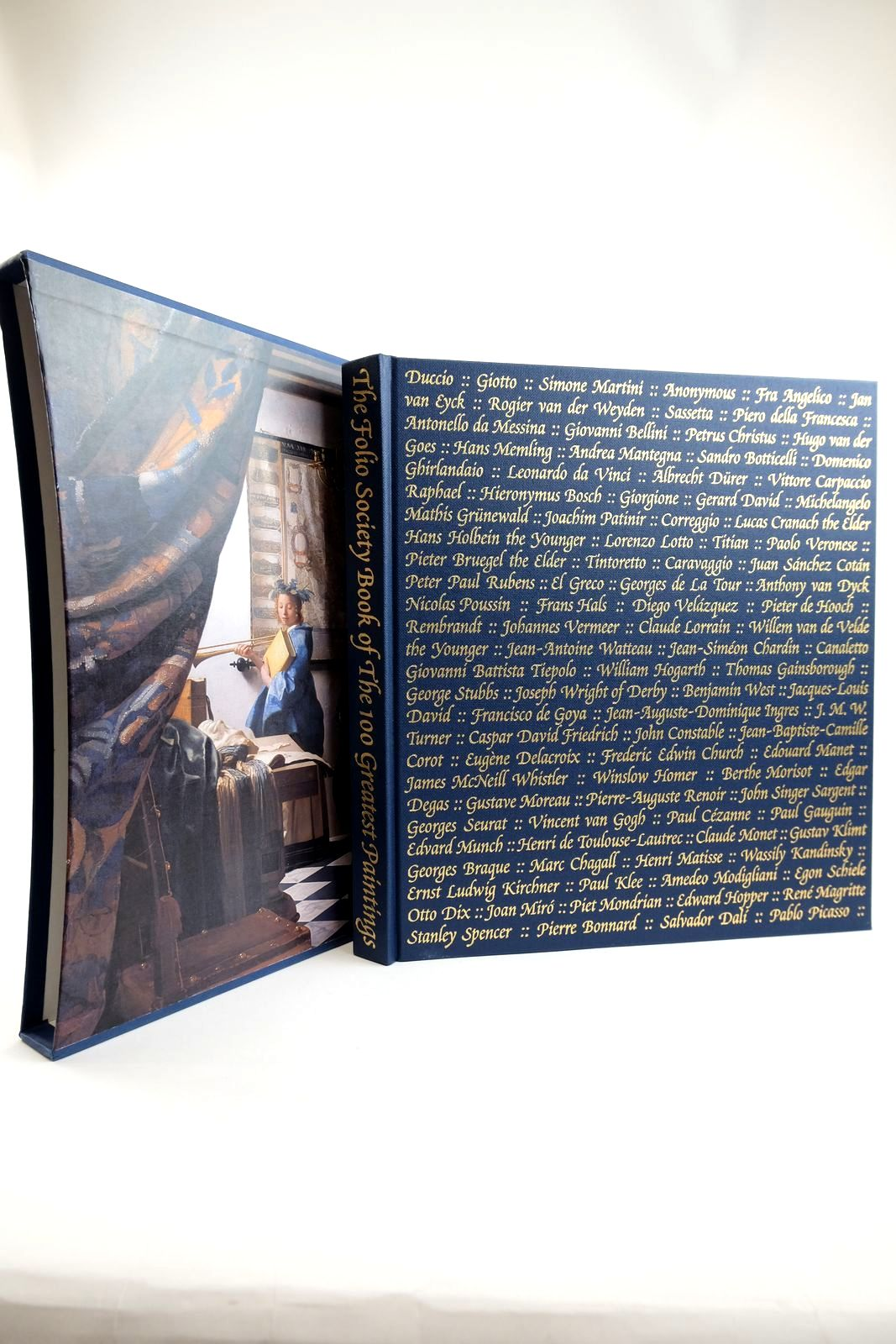 Photo of THE FOLIO SOCIETY BOOK OF THE 100 GREATEST PAINTINGS written by Bailey, Martin published by Folio Society (STOCK CODE: 2132383)  for sale by Stella & Rose's Books