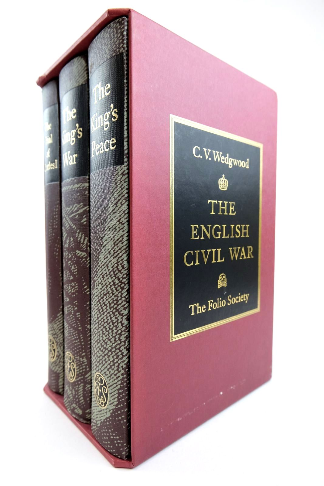 Photo of THE ENGLISH CIVIL WAR (3 VOLUMES) written by Wedgwood, C.V. published by Folio Society (STOCK CODE: 2132385)  for sale by Stella & Rose's Books