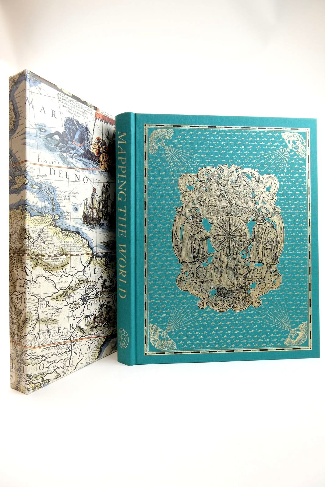 Photo of MAPPING THE WORLD written by Whitfield, Peter published by Folio Society (STOCK CODE: 2132386)  for sale by Stella & Rose's Books