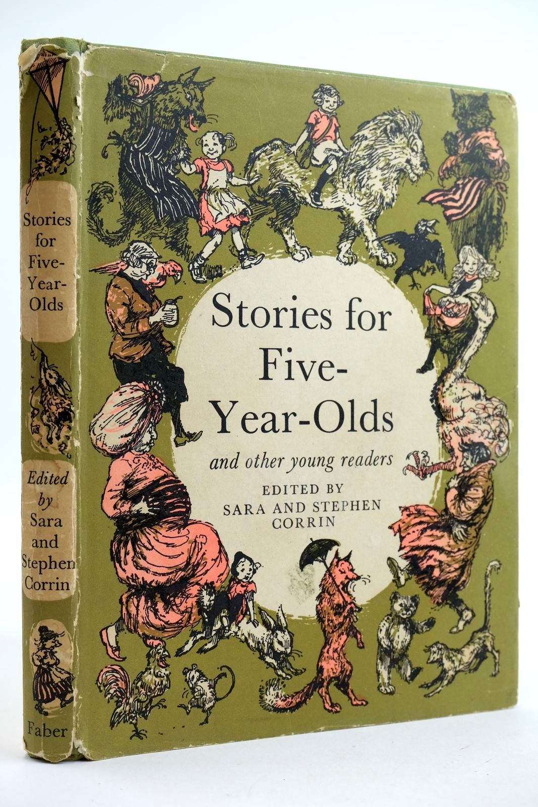 Photo of STORIES FOR FIVE-YEAR-OLDS written by Corrin, Sara Corrin, Stephen illustrated by Hughes, Shirley published by Faber & Faber (STOCK CODE: 2132407)  for sale by Stella & Rose's Books