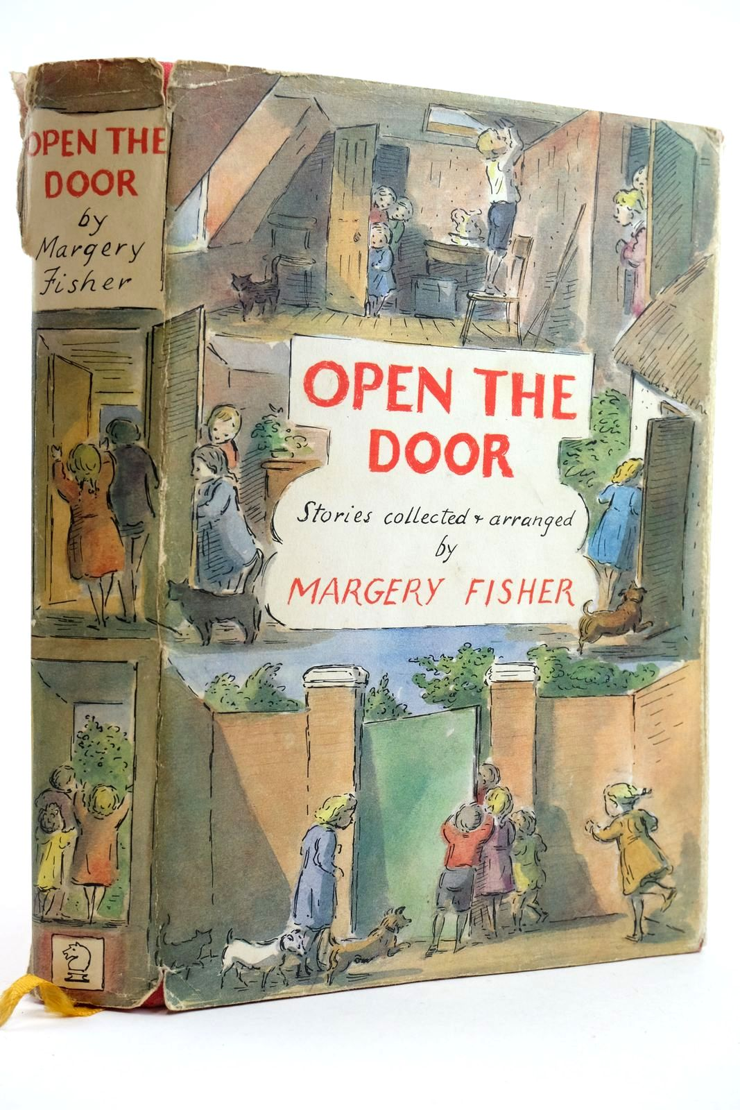 Photo of OPEN THE DOOR written by Fisher, Margery et al,  illustrated by Ardizzone, Edward et al.,  published by Brockhampton Press Ltd. (STOCK CODE: 2132411)  for sale by Stella & Rose's Books