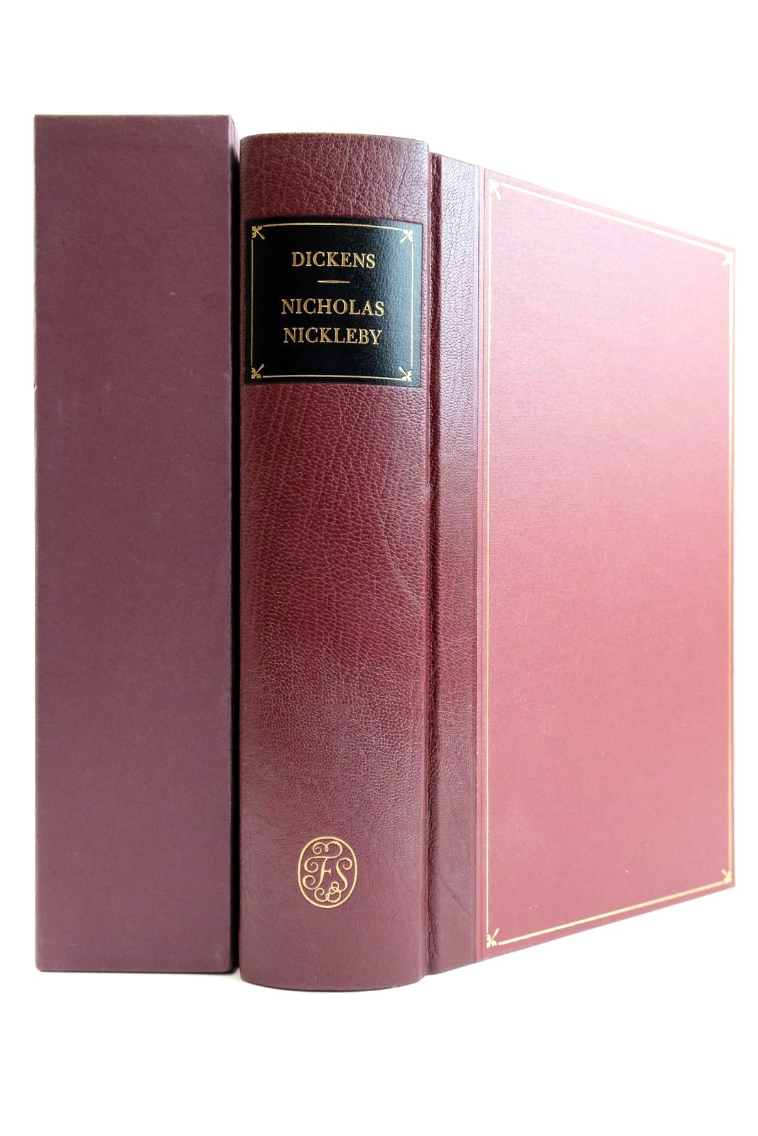 Photo of NICHOLAS NICKLEBY written by Dickens, Charles Callow, Simon illustrated by Phiz,  published by Folio Society (STOCK CODE: 2132426)  for sale by Stella & Rose's Books